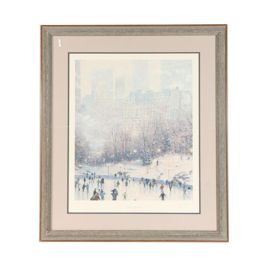 Thomas Kinkade Offset Lithograph \