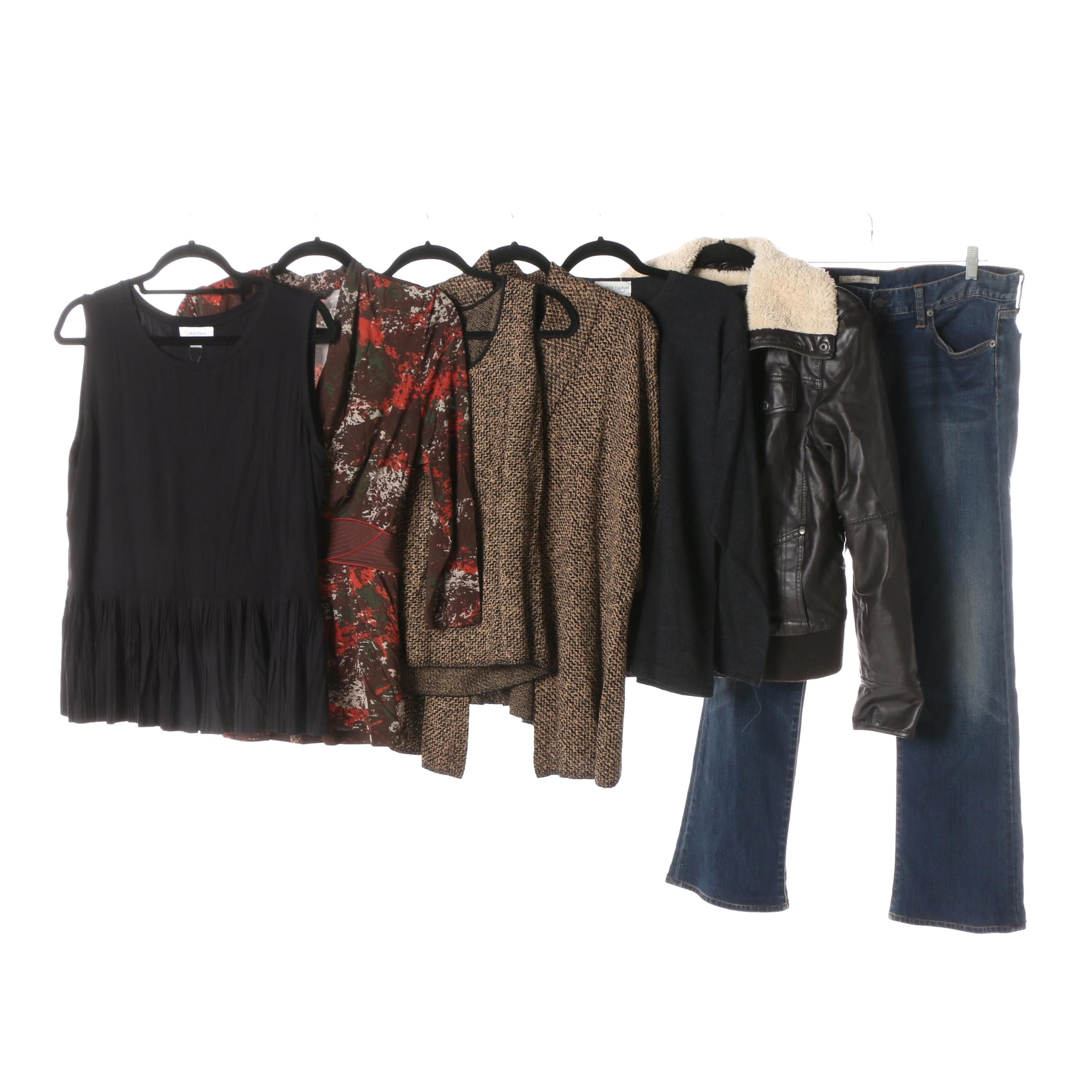 Women's Tops, Jeans and Jacket including Ralph Lauren and Calvin Klein