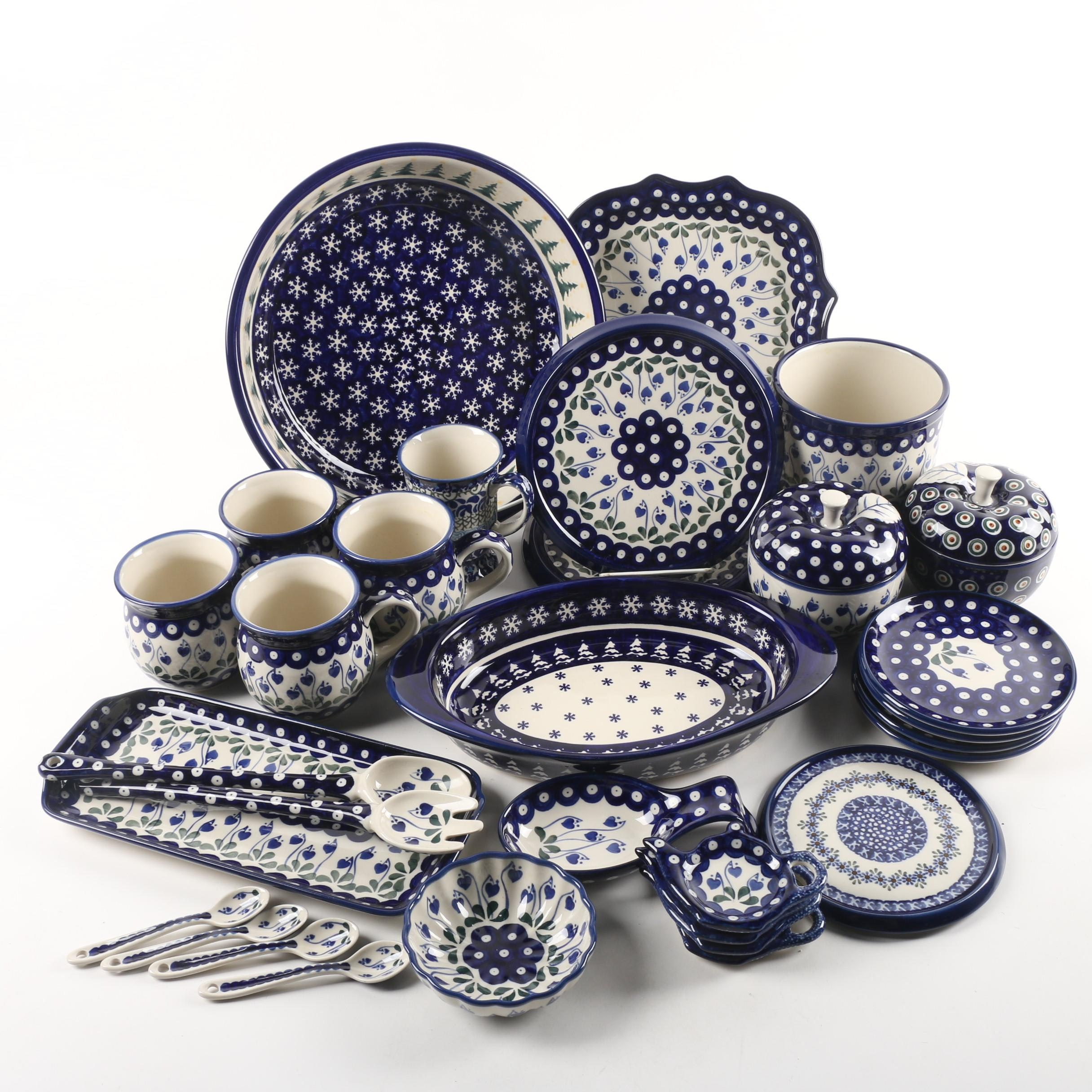 Boleslawiec Polish Pottery Bake and Serveware
