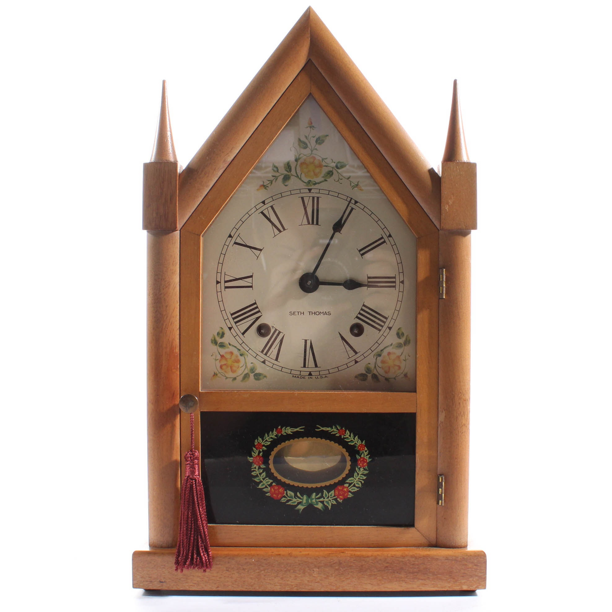 Seth Thomas Cathedral Mantel Clock