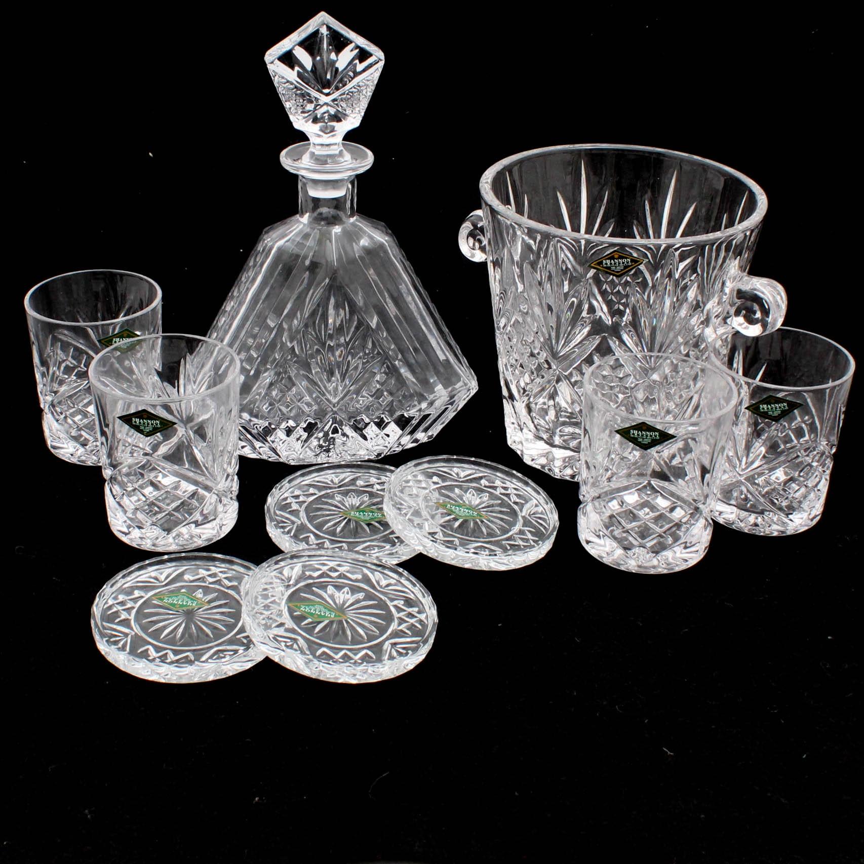 "Godinger ""Shannon Collection: Dublin"" Crystal Barware"