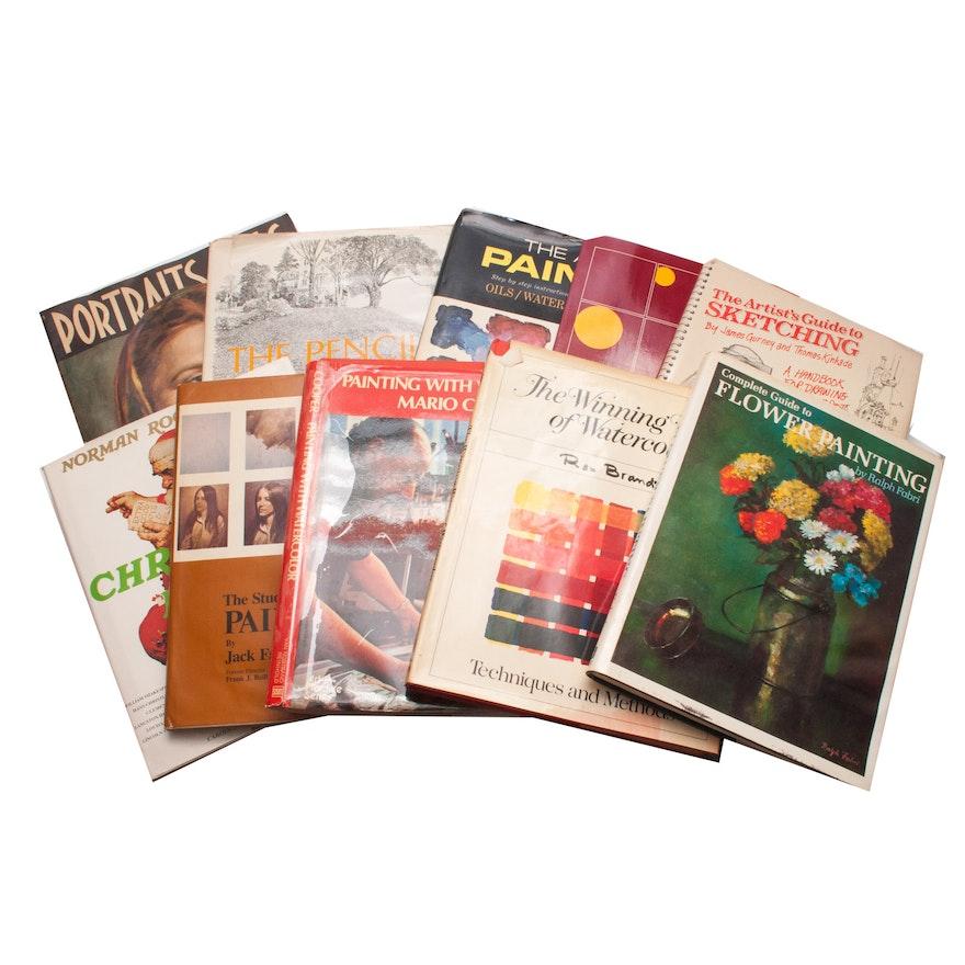 Art Instruction Books Ebth