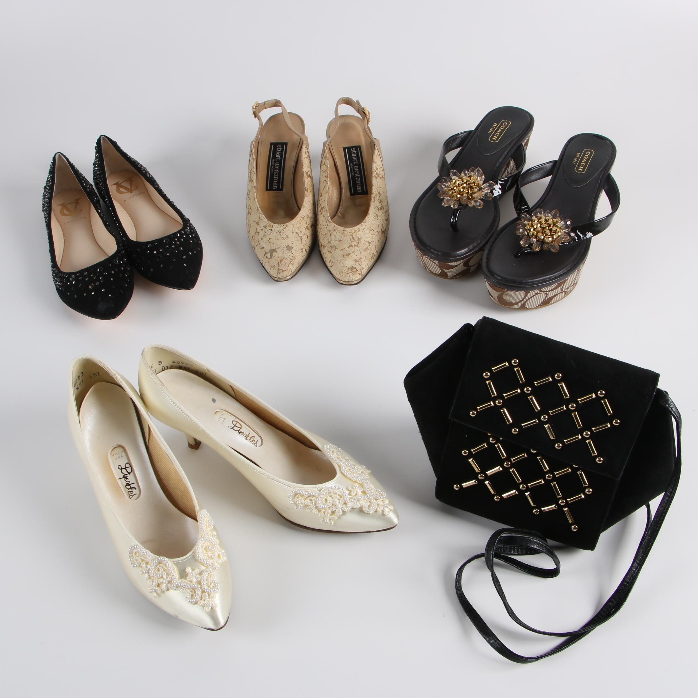 Women's Shoes and Handbag including Coach and Stuart Weitzman