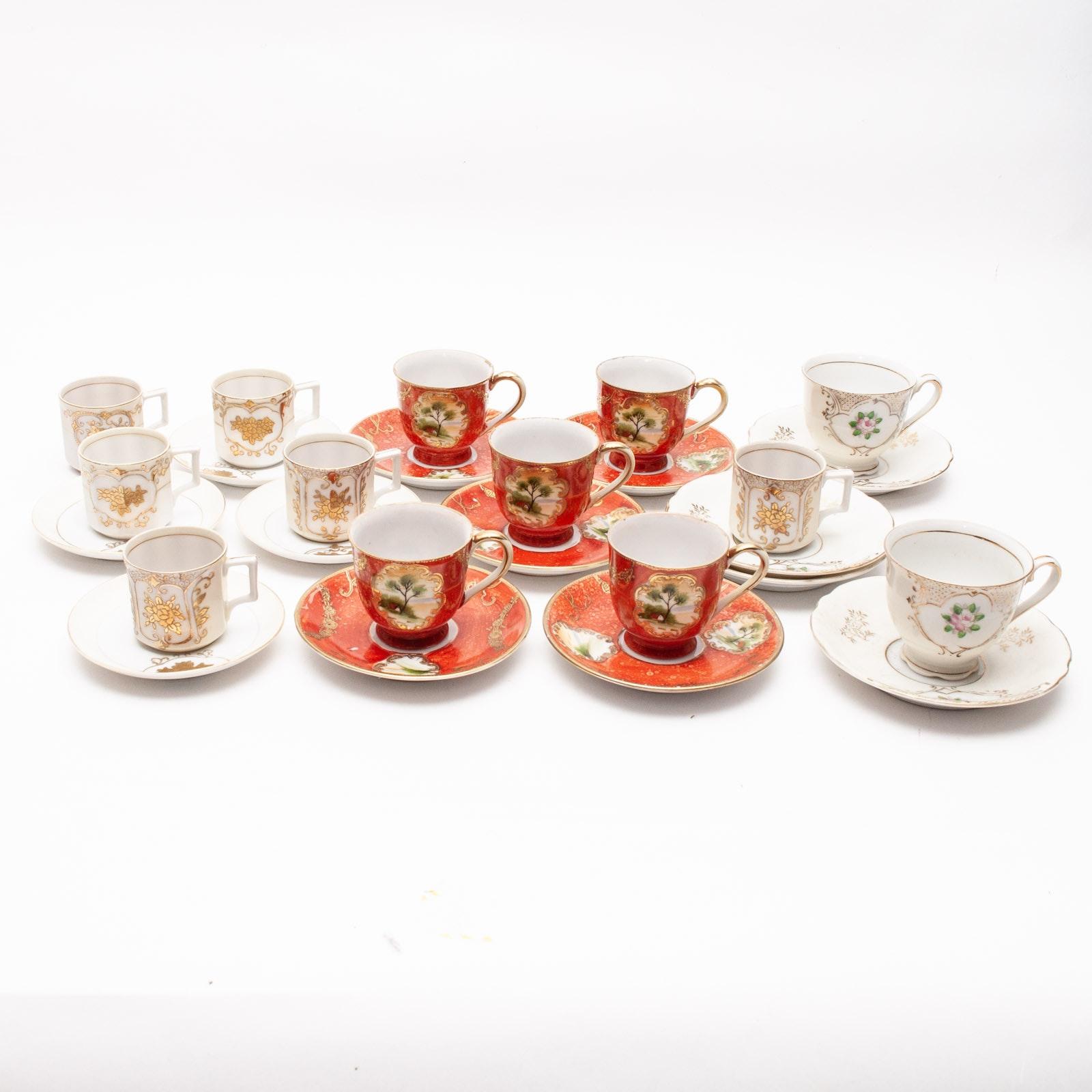 Occupied Japan Porcelain Demitasse Sets
