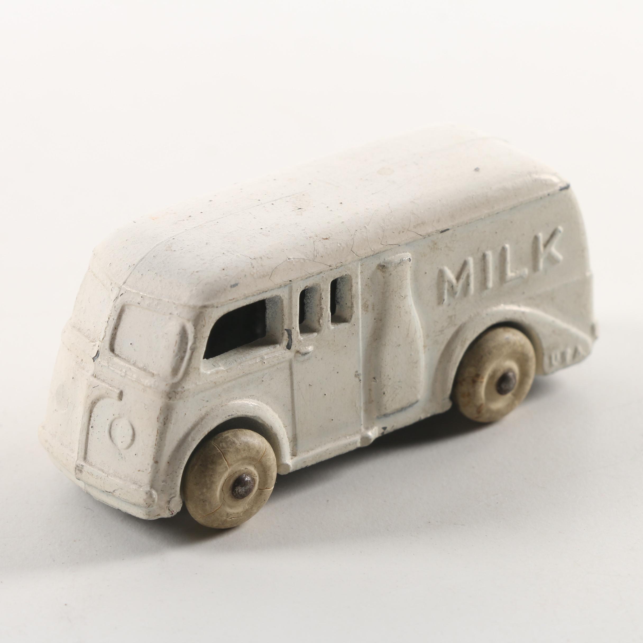 Die-Cast Milk Delivery Truck, Mid Century