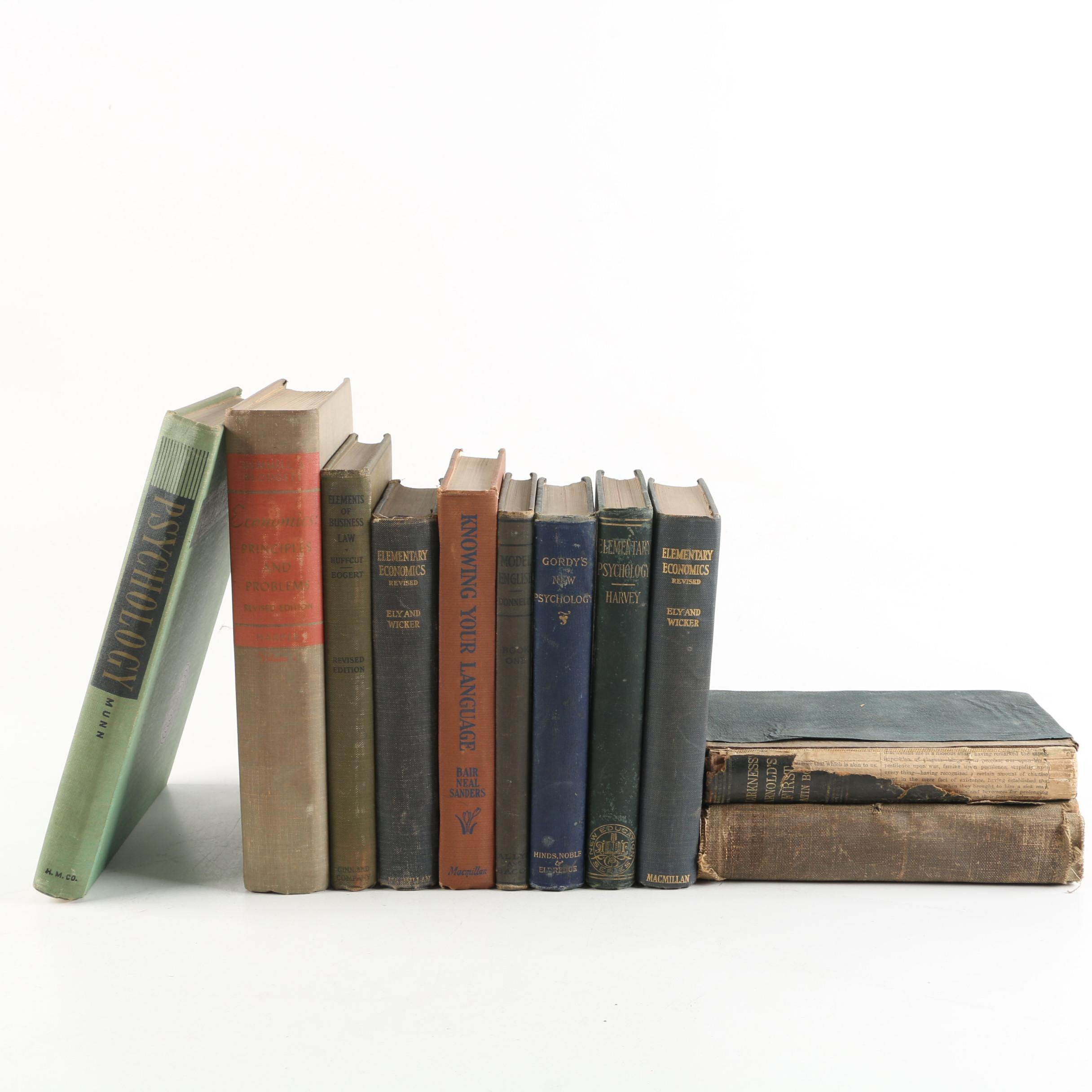 Education and Reference Books including Economics and Psychology