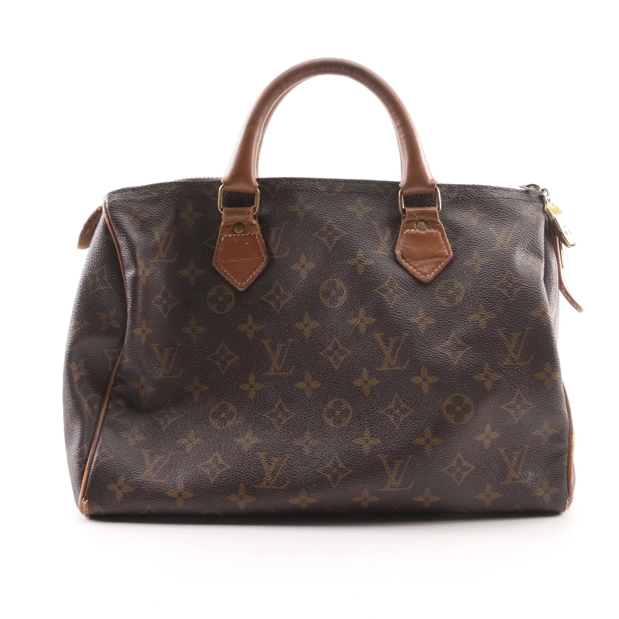 Vintage The French Company for Louis Vuitton Monogram Speedy Handbag