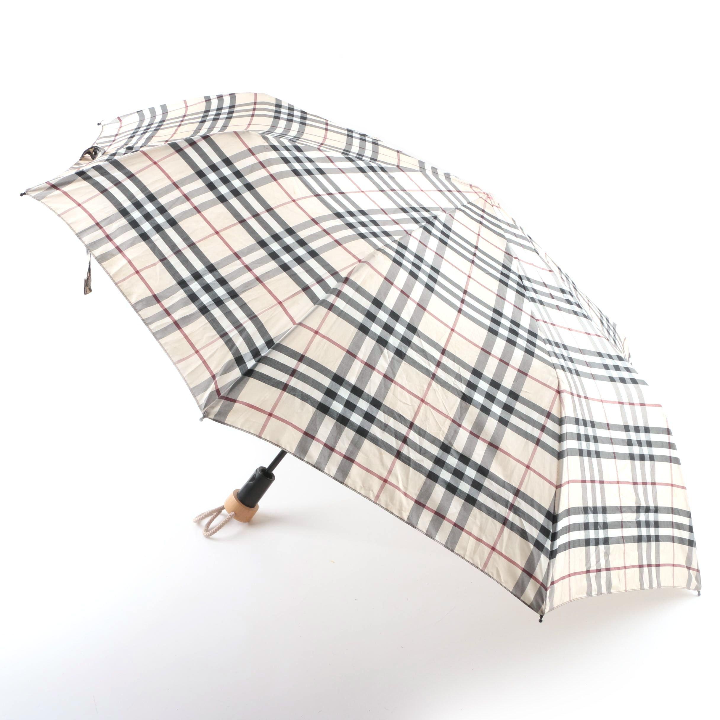 Burberry Signature Plaid Umbrella