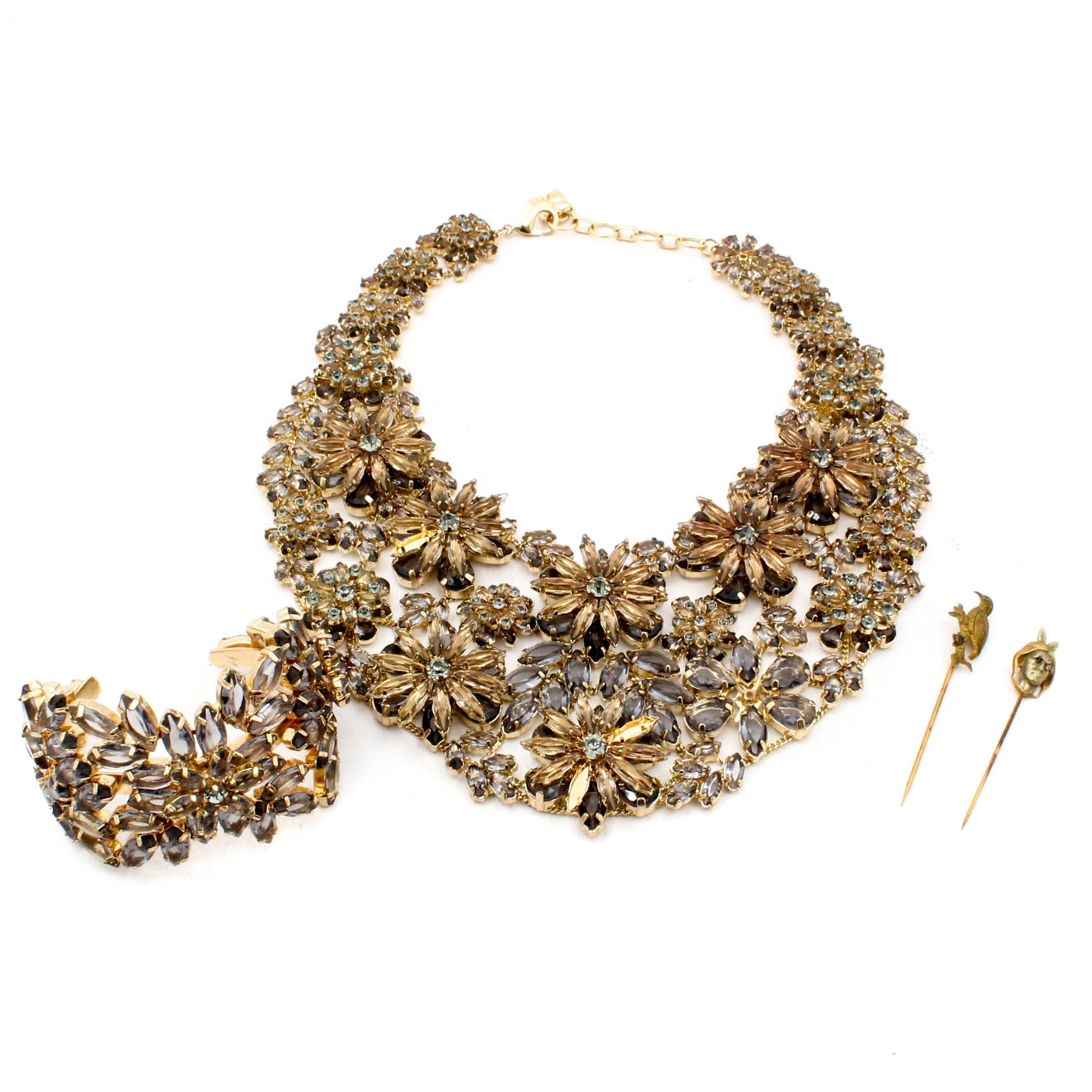 Gold Tone Costume Jewelry