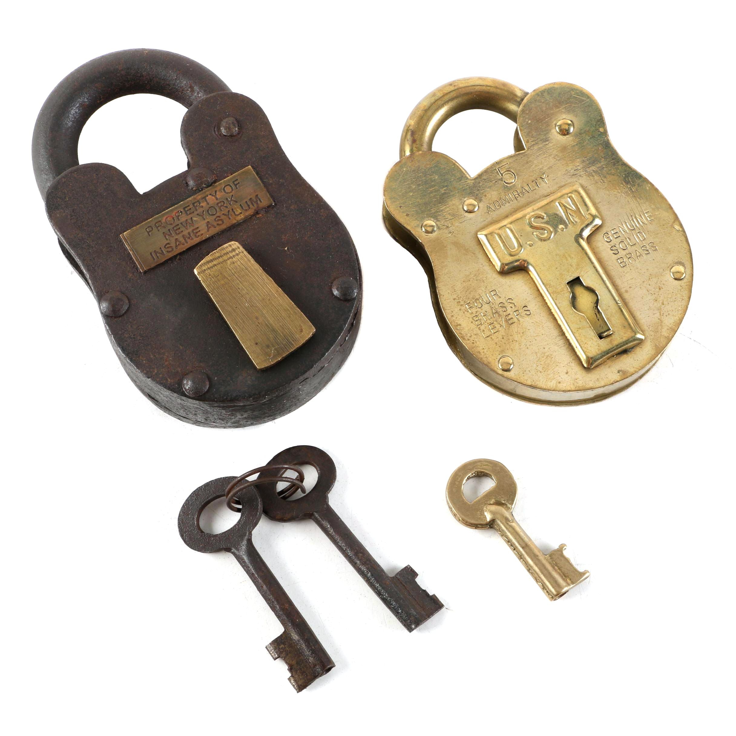 Fantasy Brass and Metal Padlocks