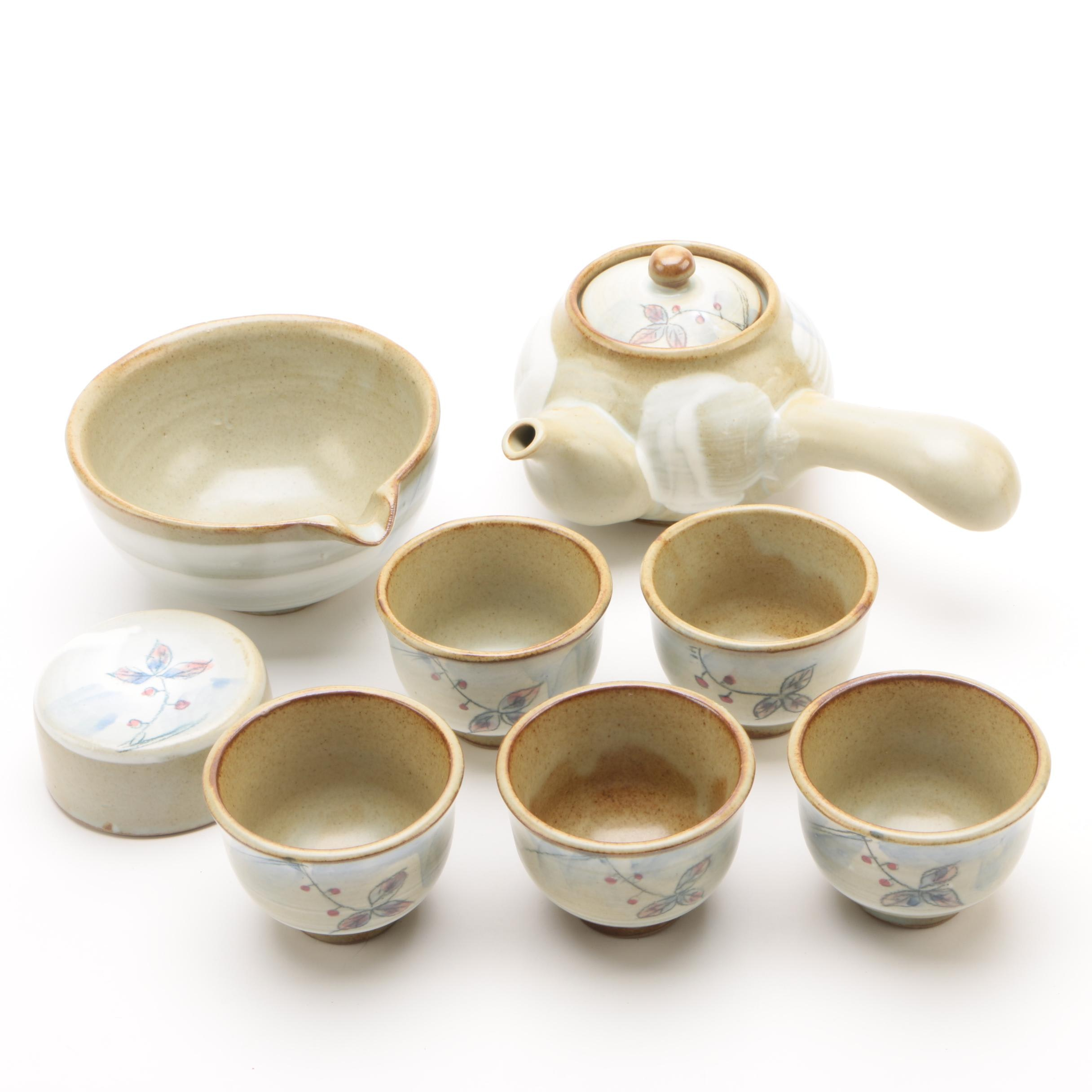 Korean Pottery Tea Set
