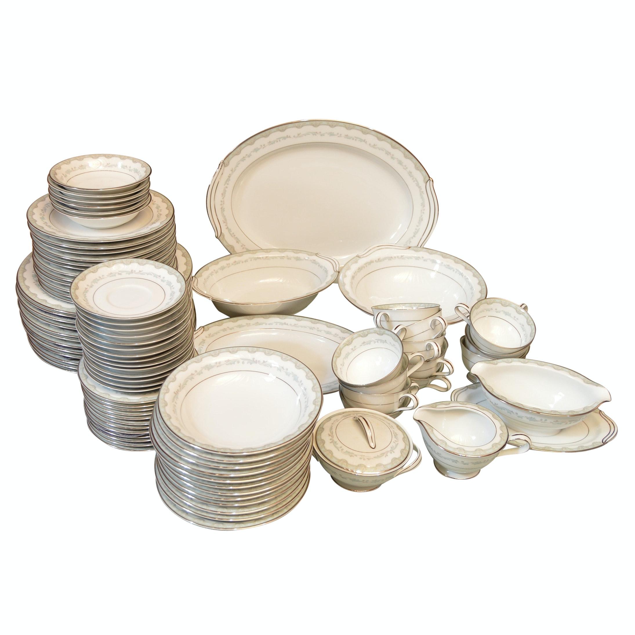 "Noritake ""Margaret"" Porcelain Dinnerware"