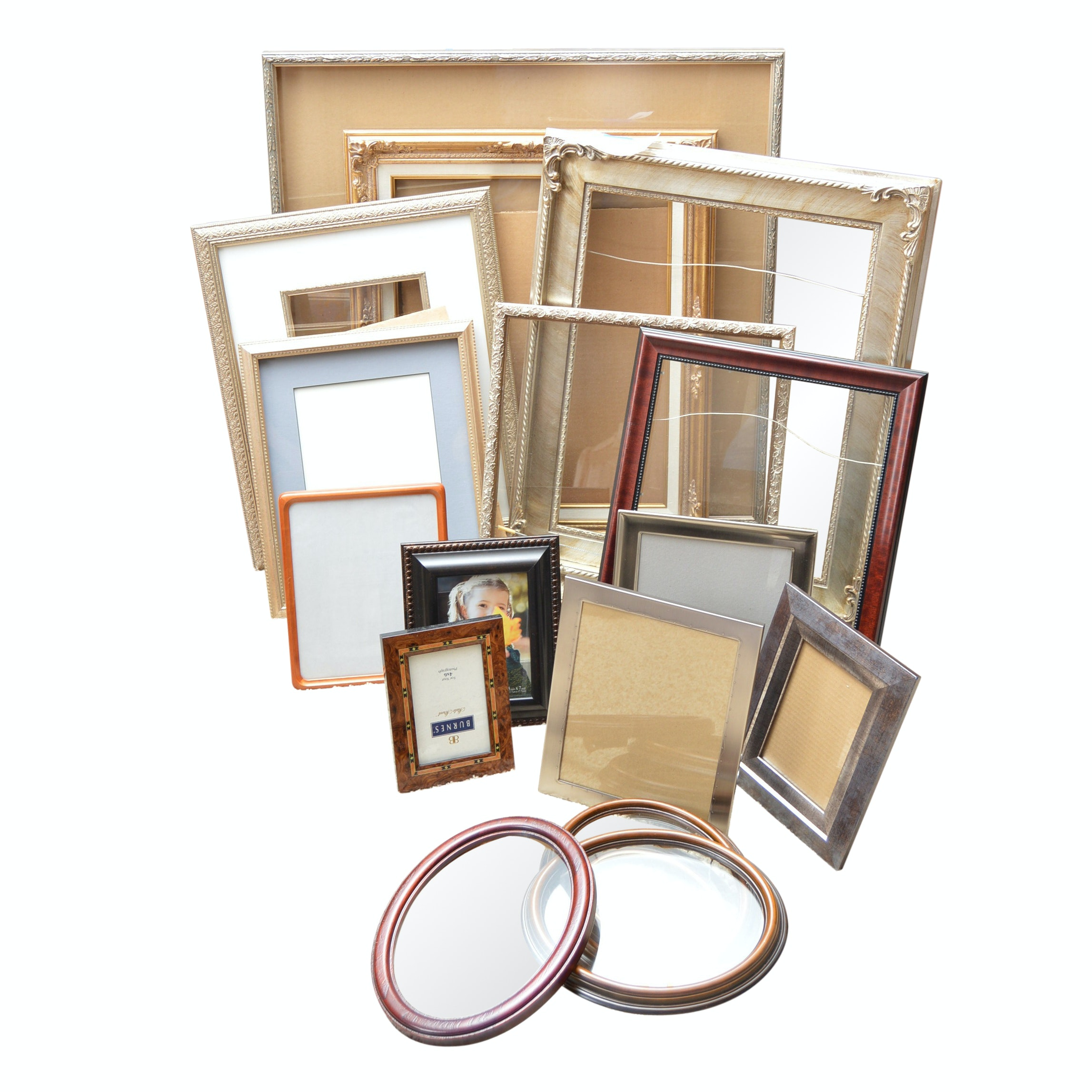 Frame Selection with Wall and Easel Frames