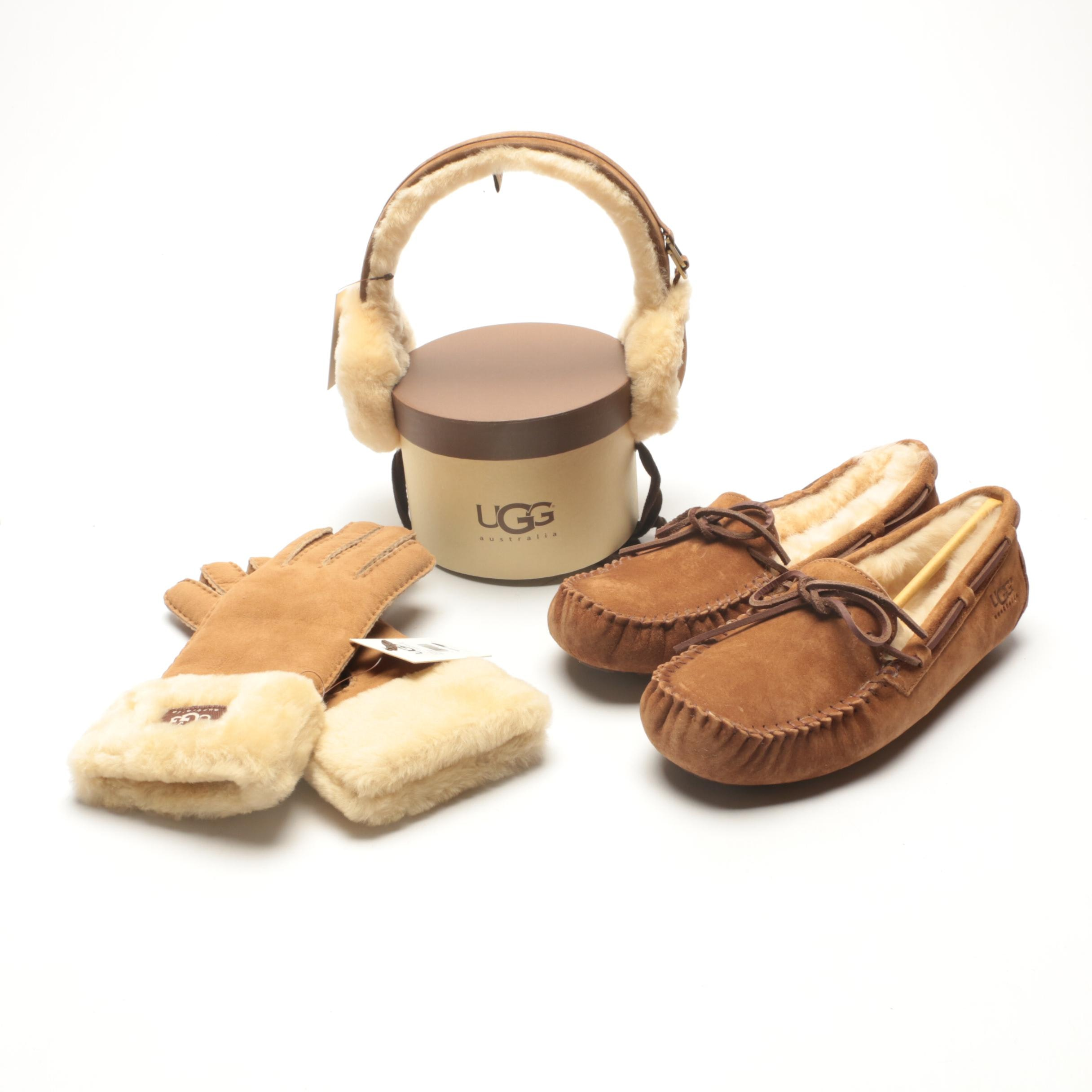UGG Australia Slippers, Gloves and Earmuffs