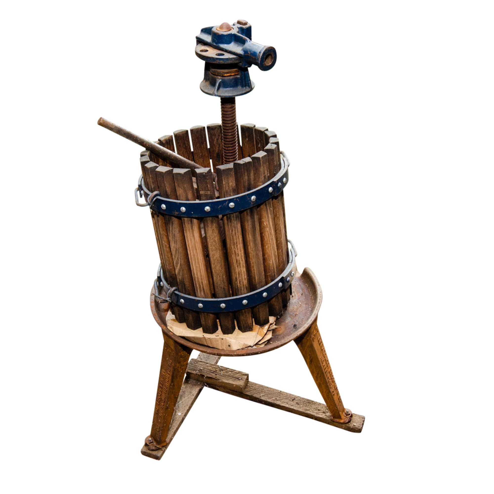 Vintage Wine and Fruit Press