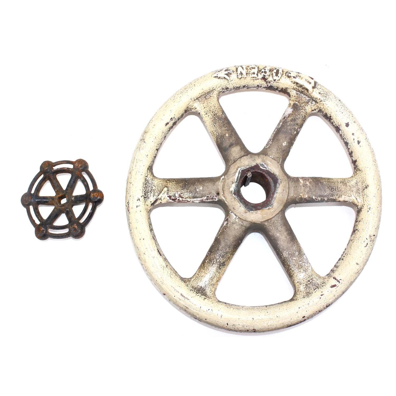 Vintage Cast Iron Valve Wheel Handles