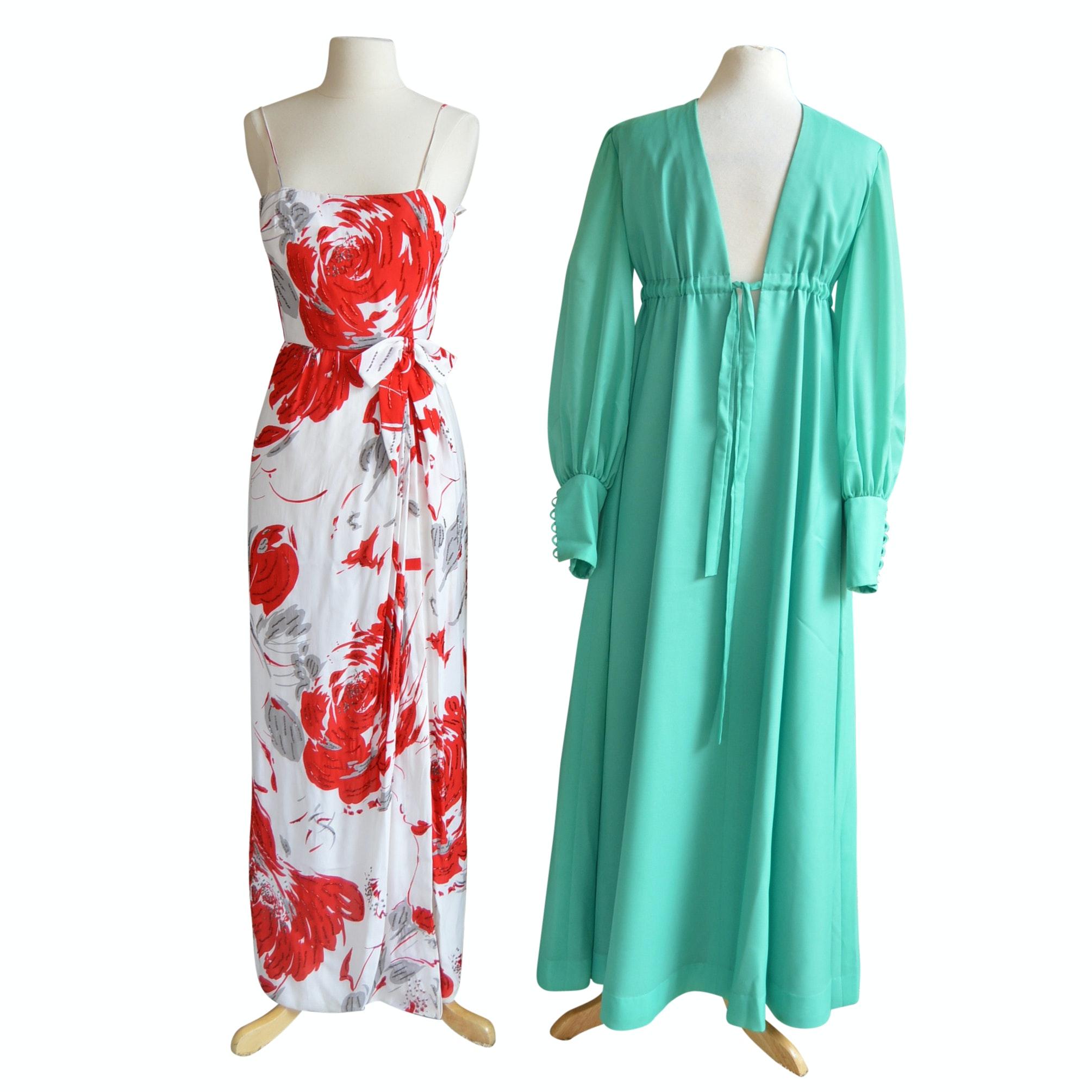 Women's Vintage Maxi Dresses