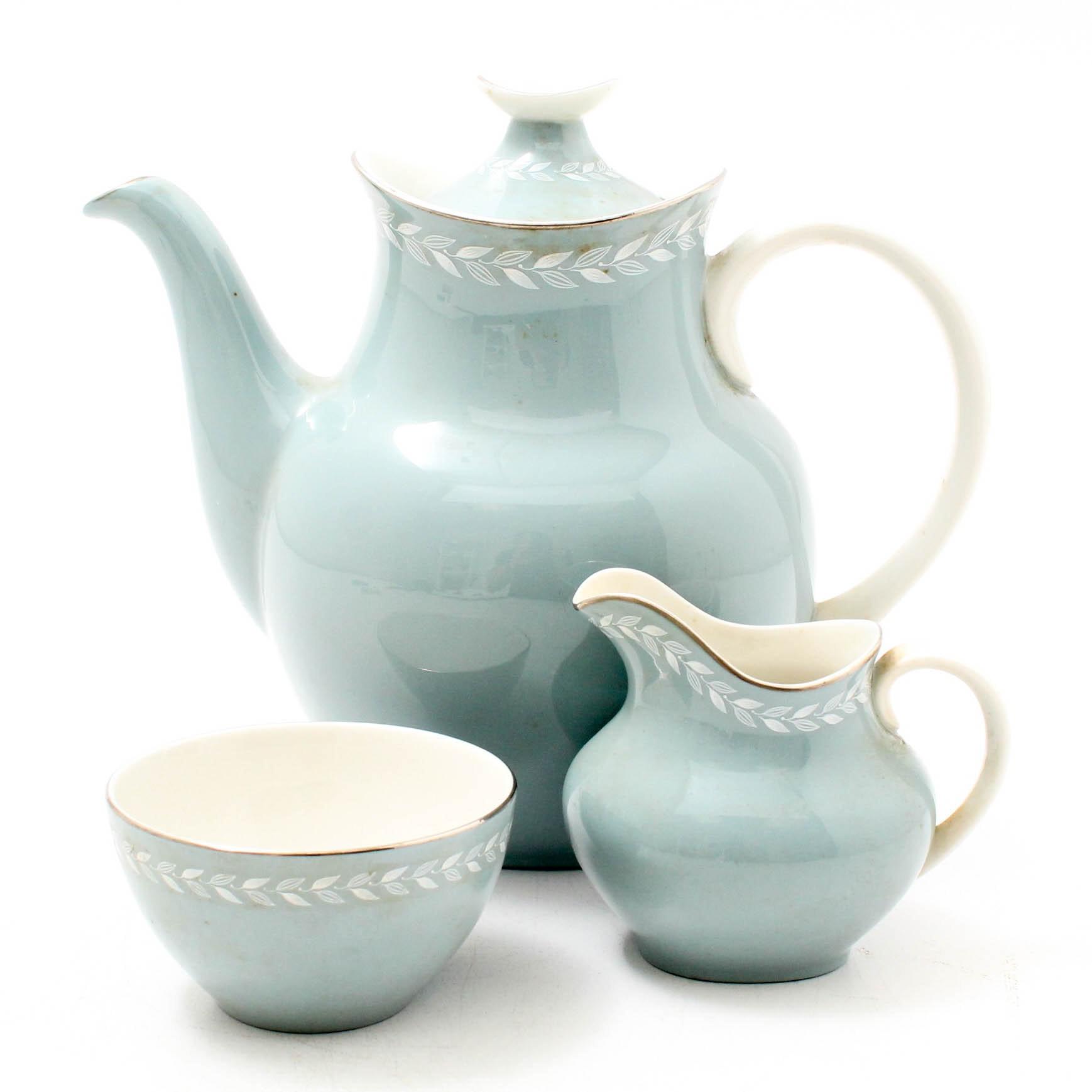 "Royal Doulton ""Aegean"" Bone China Tea Set"