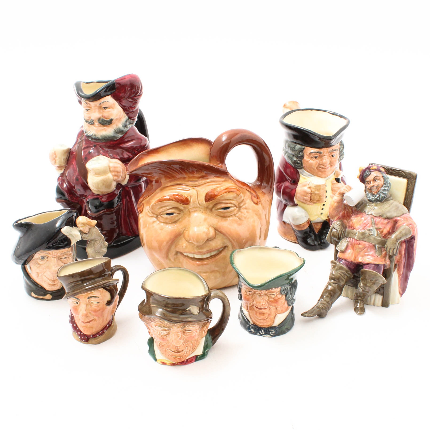 Royal Doulton Toby Jugs and Figurine