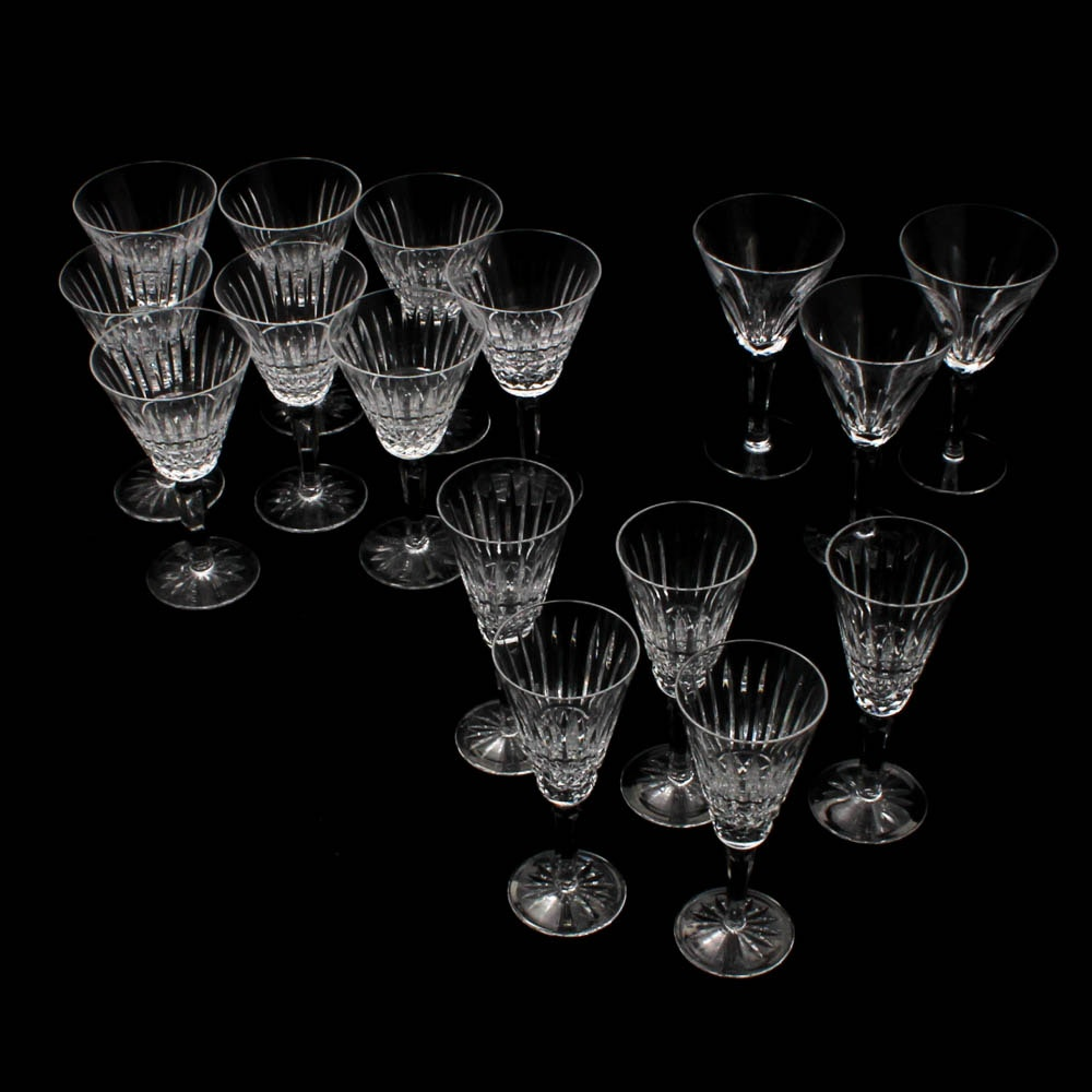 "Waterford Crystal ""Maeve"" and ""Sheila"" Pattern Stemware"