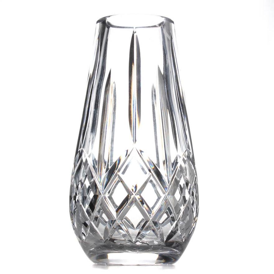 Waterford Crystal Lismore Vase Ebth