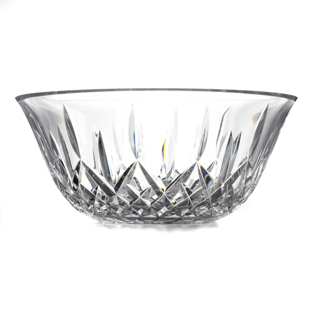 "Waterford Crystal ""Lismore"" Bowl"