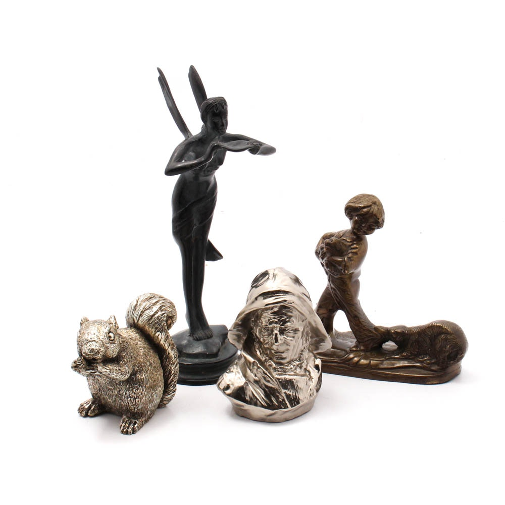 Cast Metal Sculpture Collection