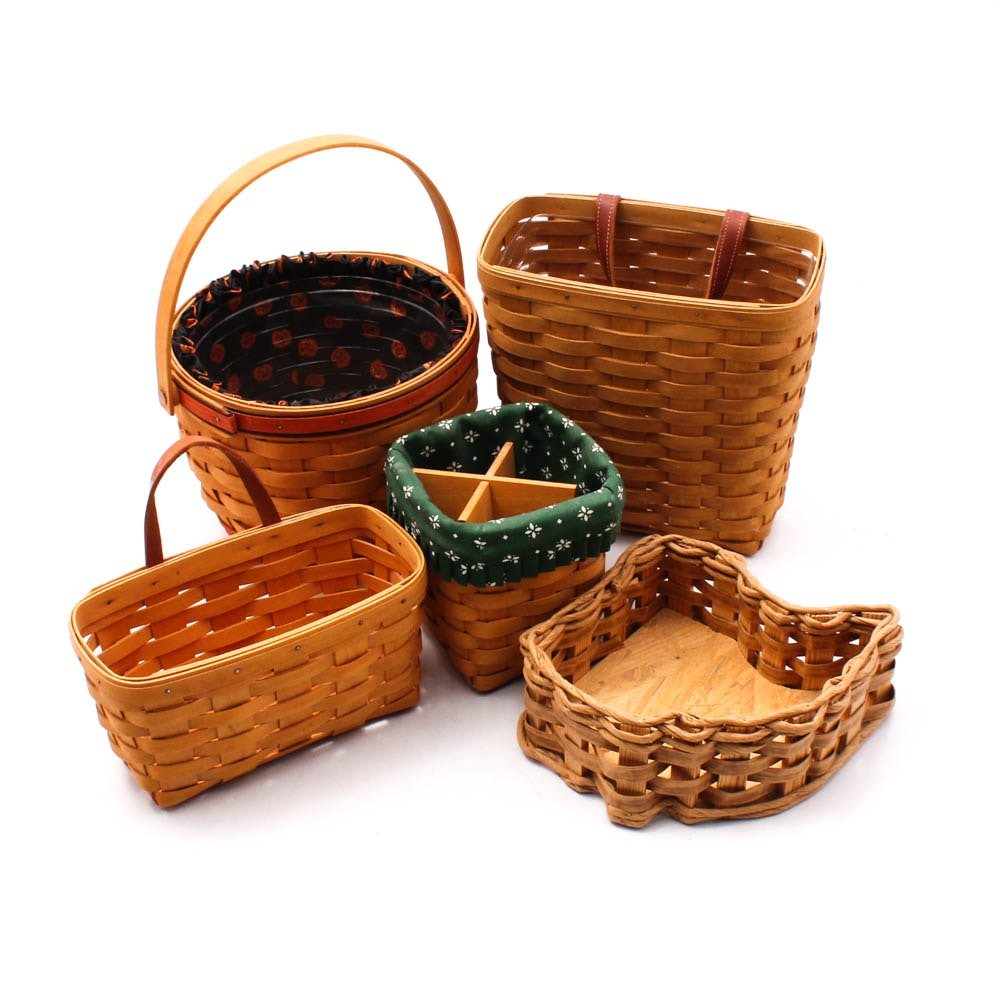 Longaberger Baskets Featuring Ohio Shaped Basket