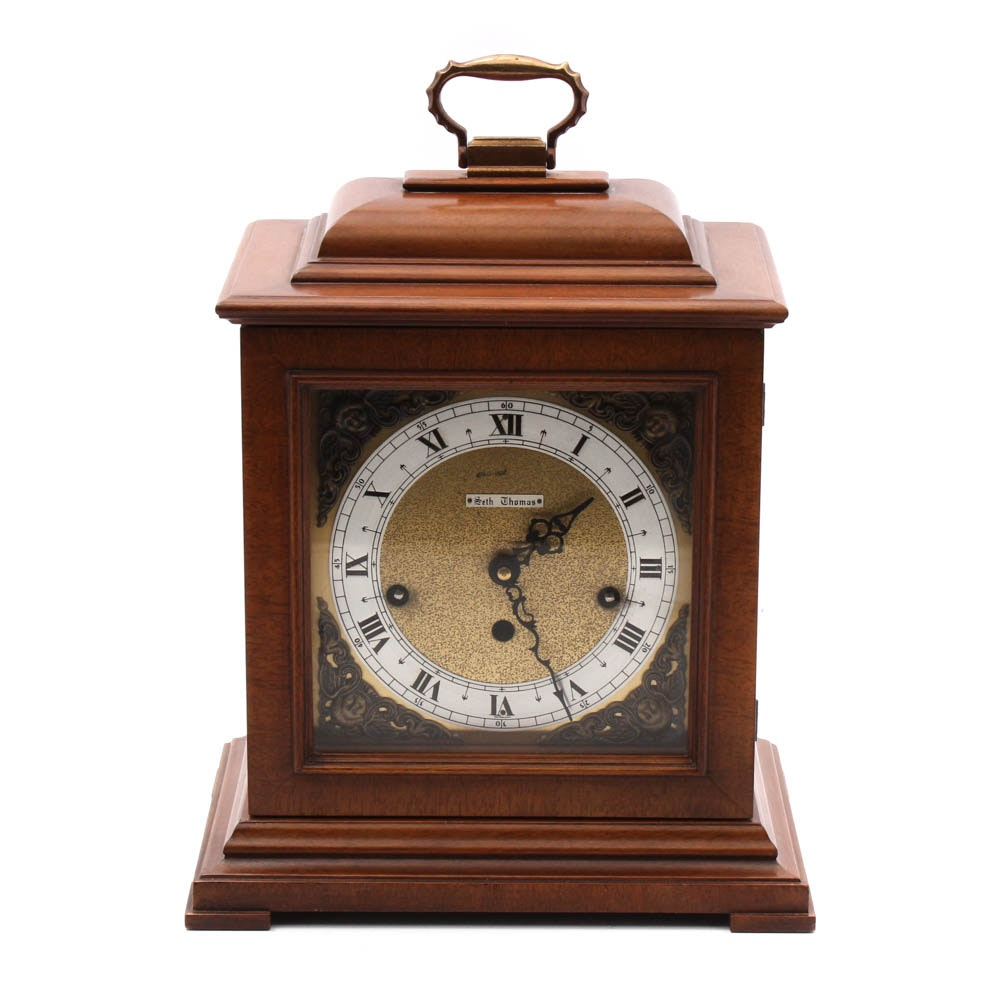Seth Thomas Wood Carriage Clock