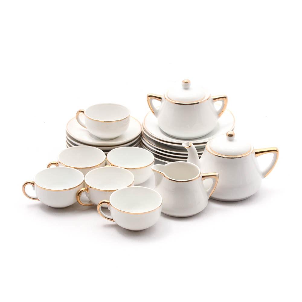 Japanese Meito China Porcelain Tea Set