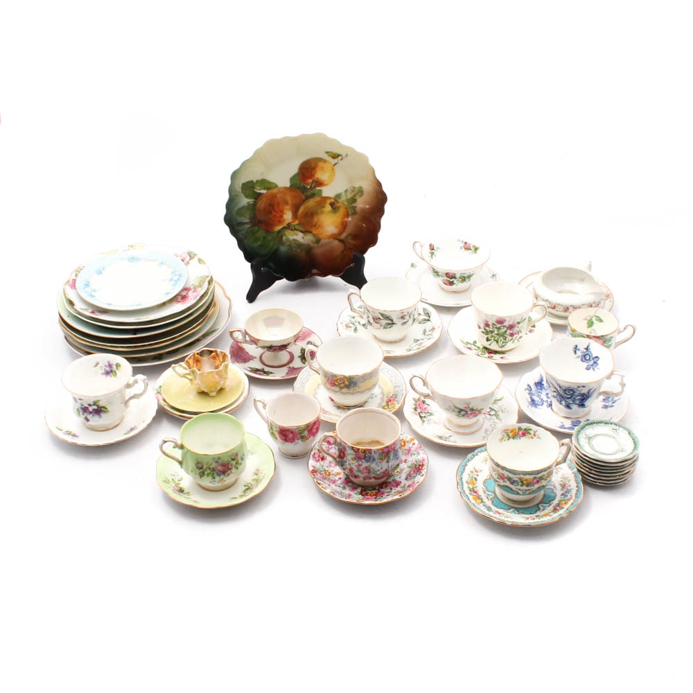 Antique and Vintage European Bone China and Porcelain Tableware