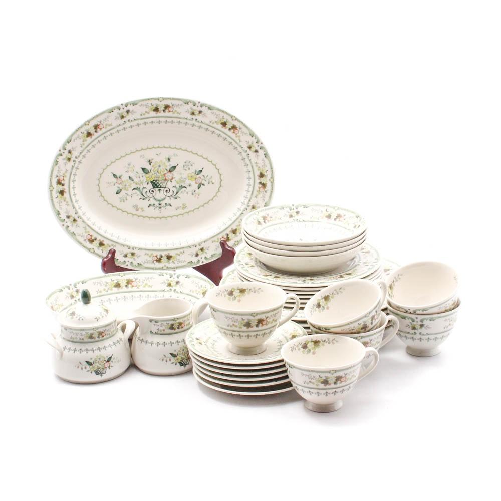 "Royal Doulton ""Provencal"" Fine China Dinner Service"