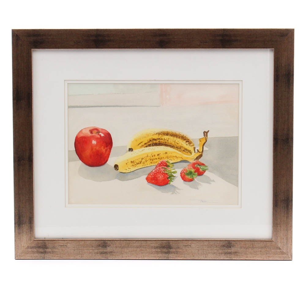 James DeVore Still-Life Watercolor Painting
