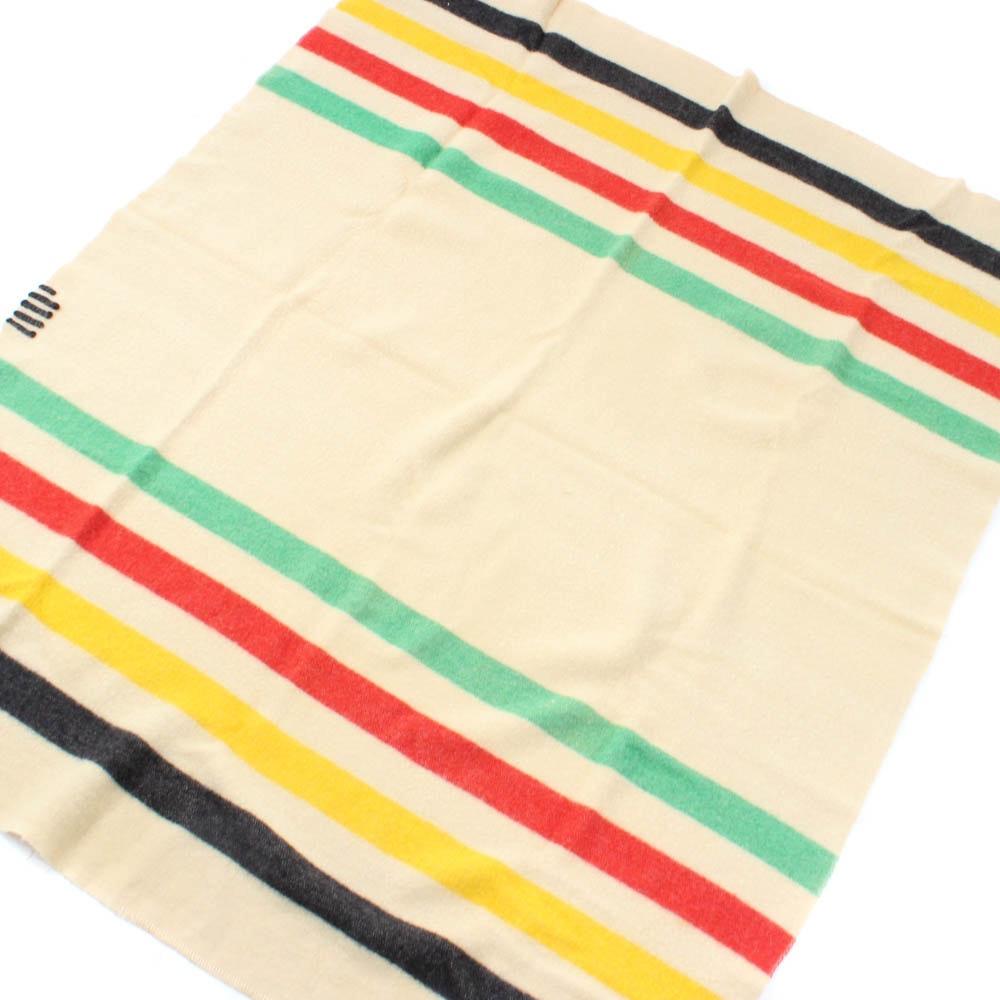 Hudson Bay Trading Company Style Wool Blanket