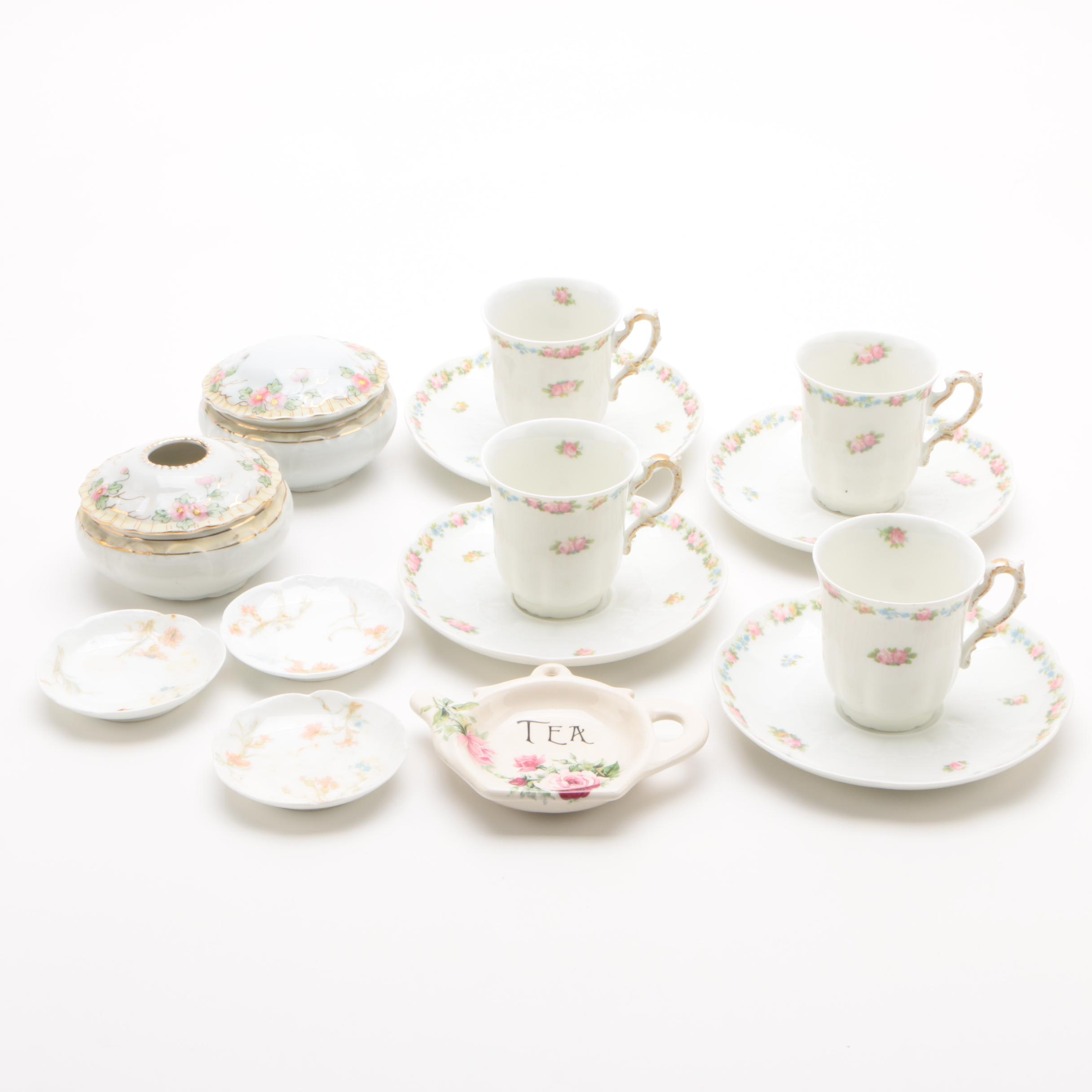 Porcelain Tea Service and Other Serveware featuring C. Ahrenfeldt
