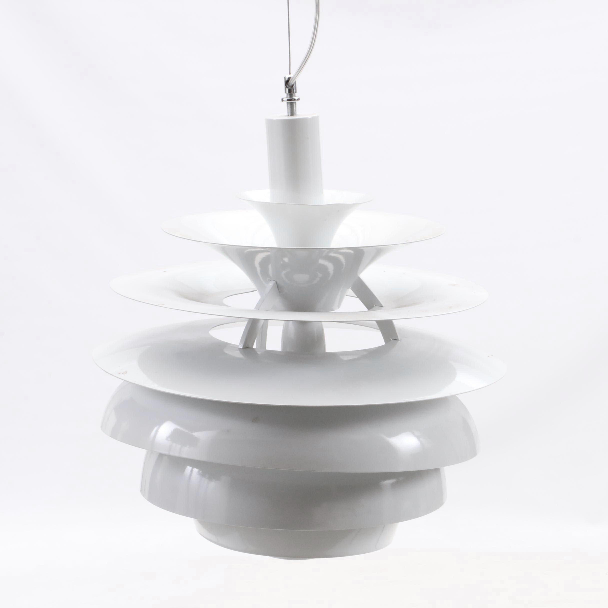 Mid Century Modern Style Pendant Light