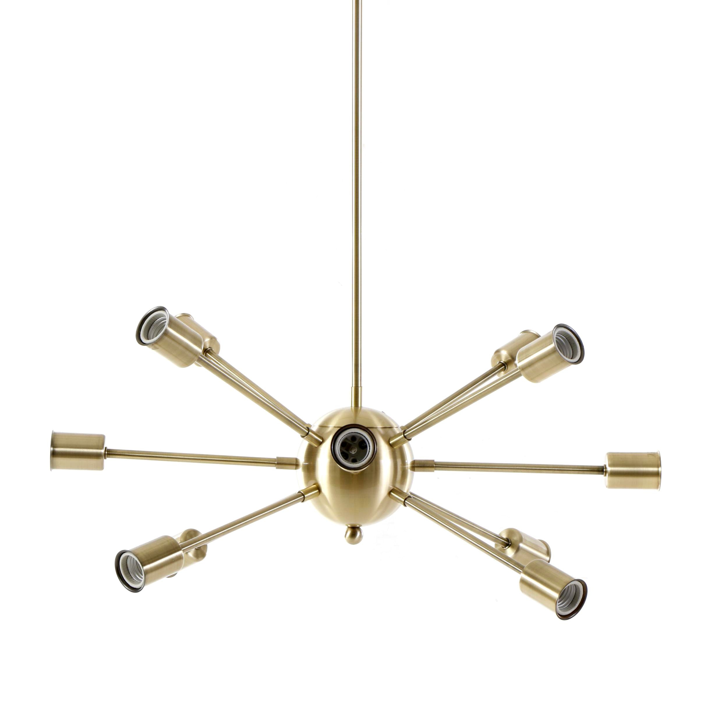 "Mid Century Modern Style ""Sputnik"" Chandelier"