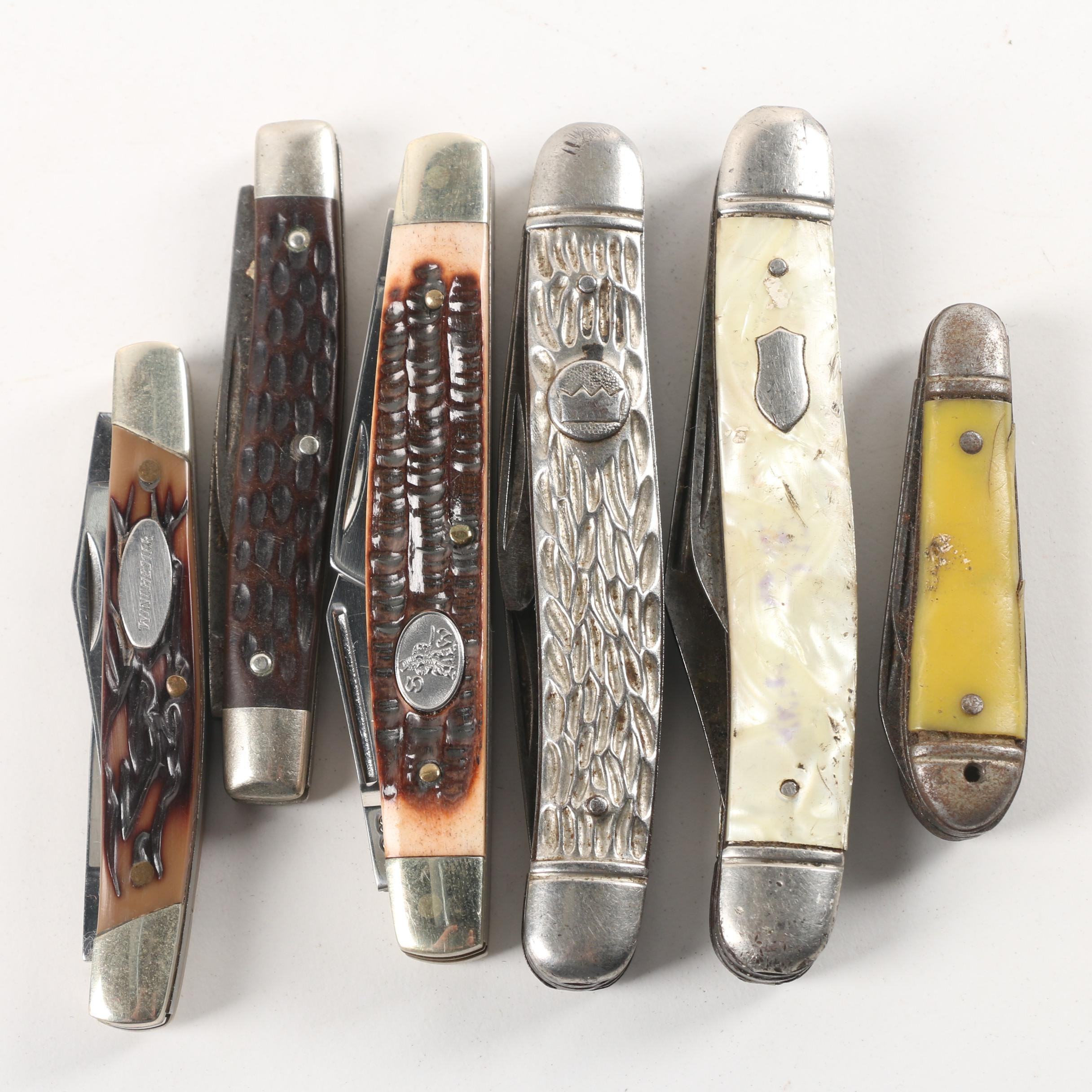 Winchester, Steel Warrior and Other Pocket Knives