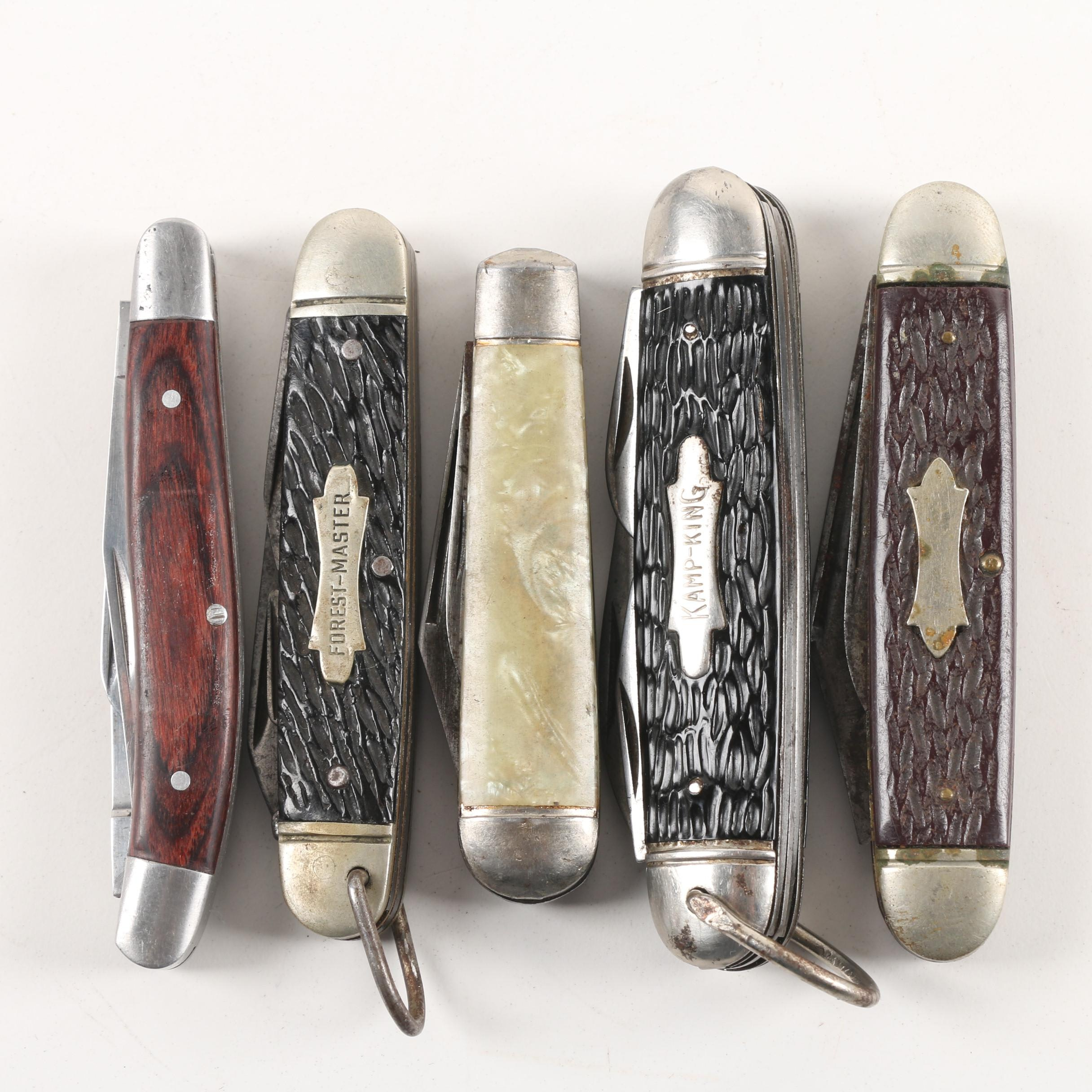 Forest-Master,  Winchester, Kamp-King and Other Pocket Knives