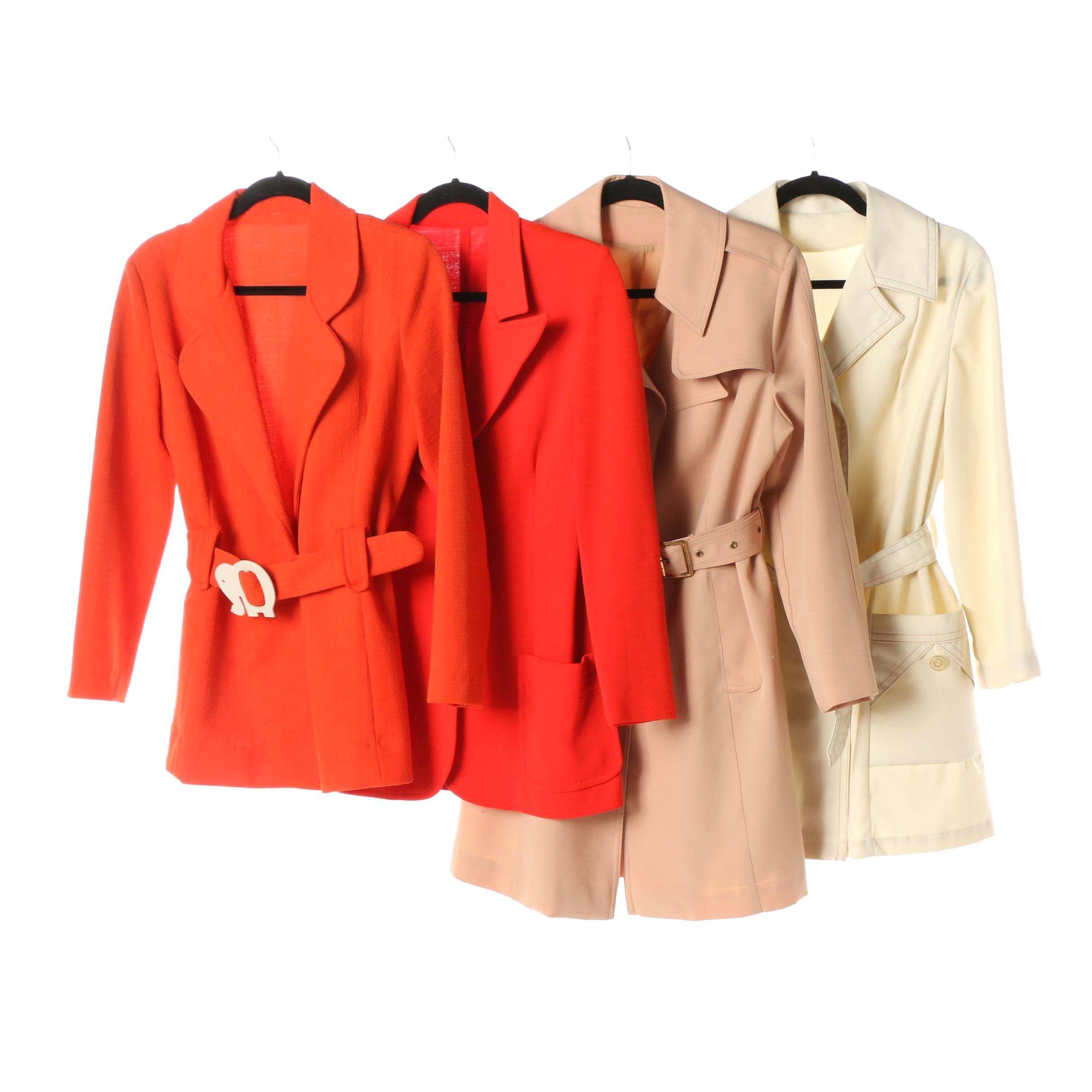 Women's Circa 1970 Vintage Jackets including Pier 4 by Davis of Boston