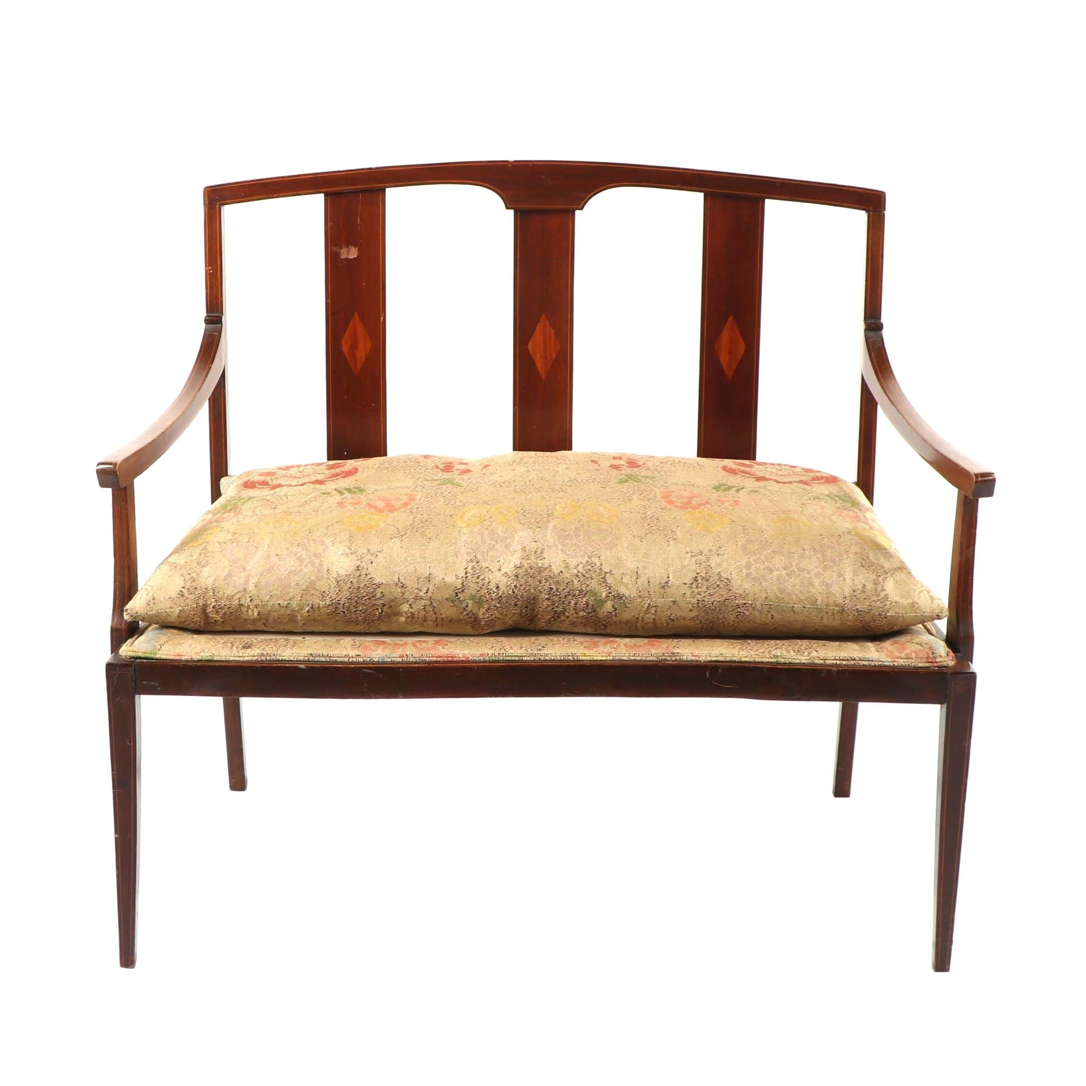 Sheraton Style Accent Bench