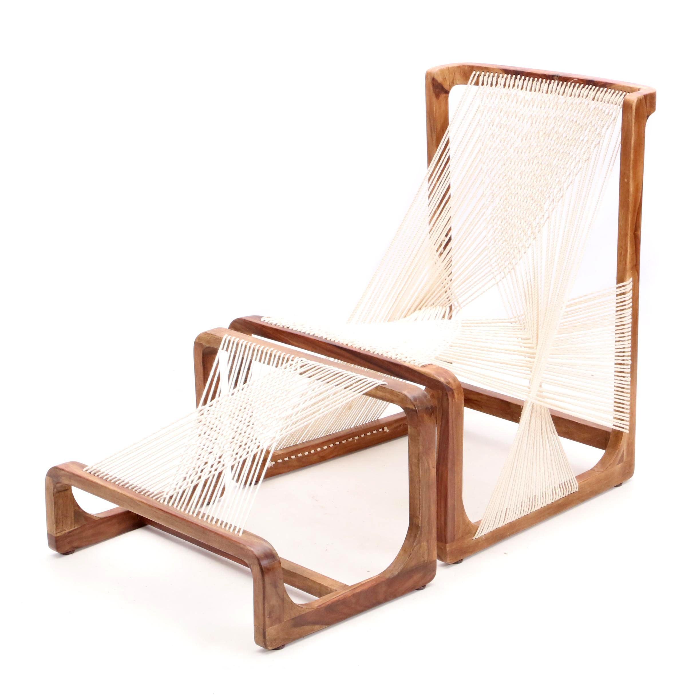 Asa Karner for Alvi Design Modern Style Rope Chair