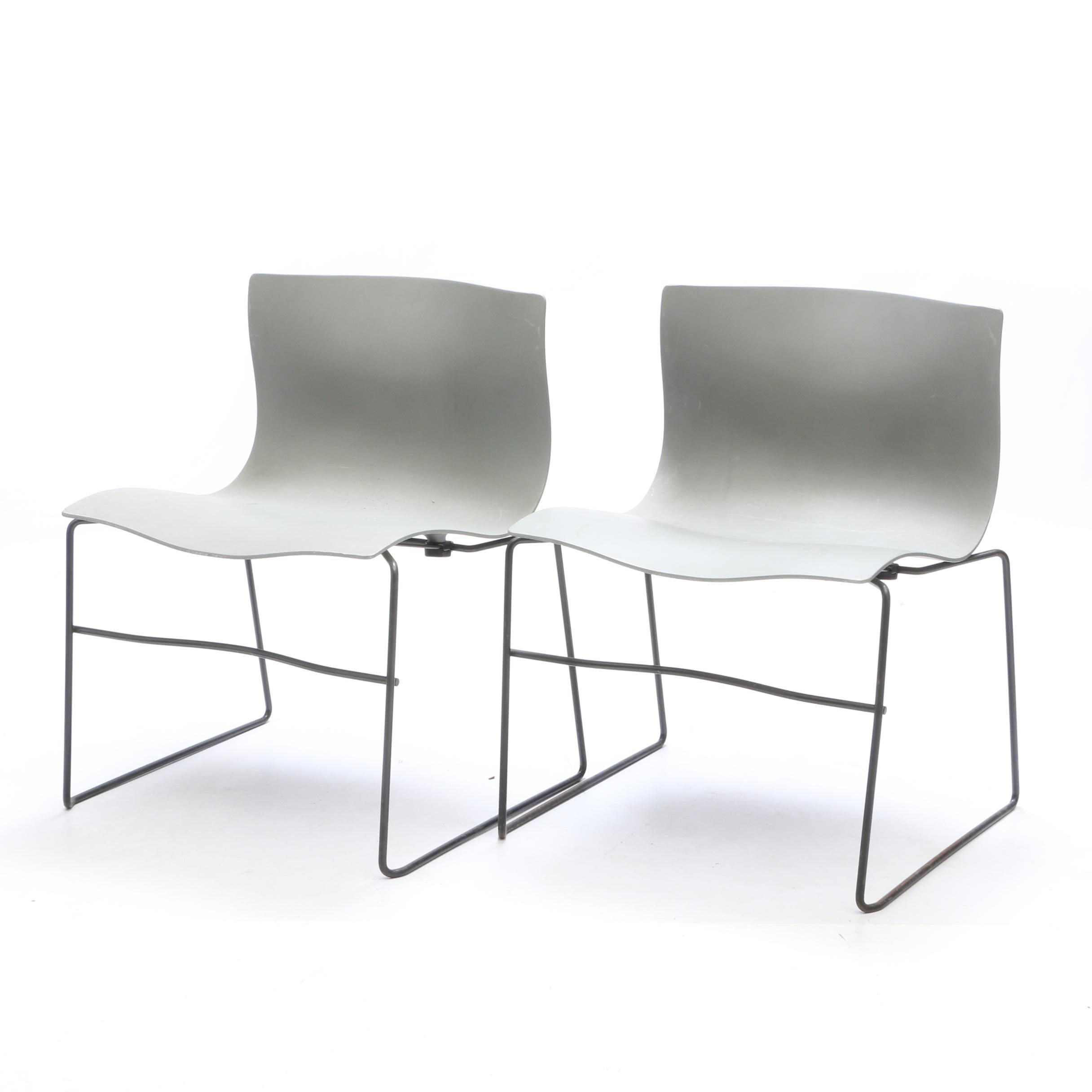 Vintage Handkerchief Chair by Massimo Vignelli for Knoll