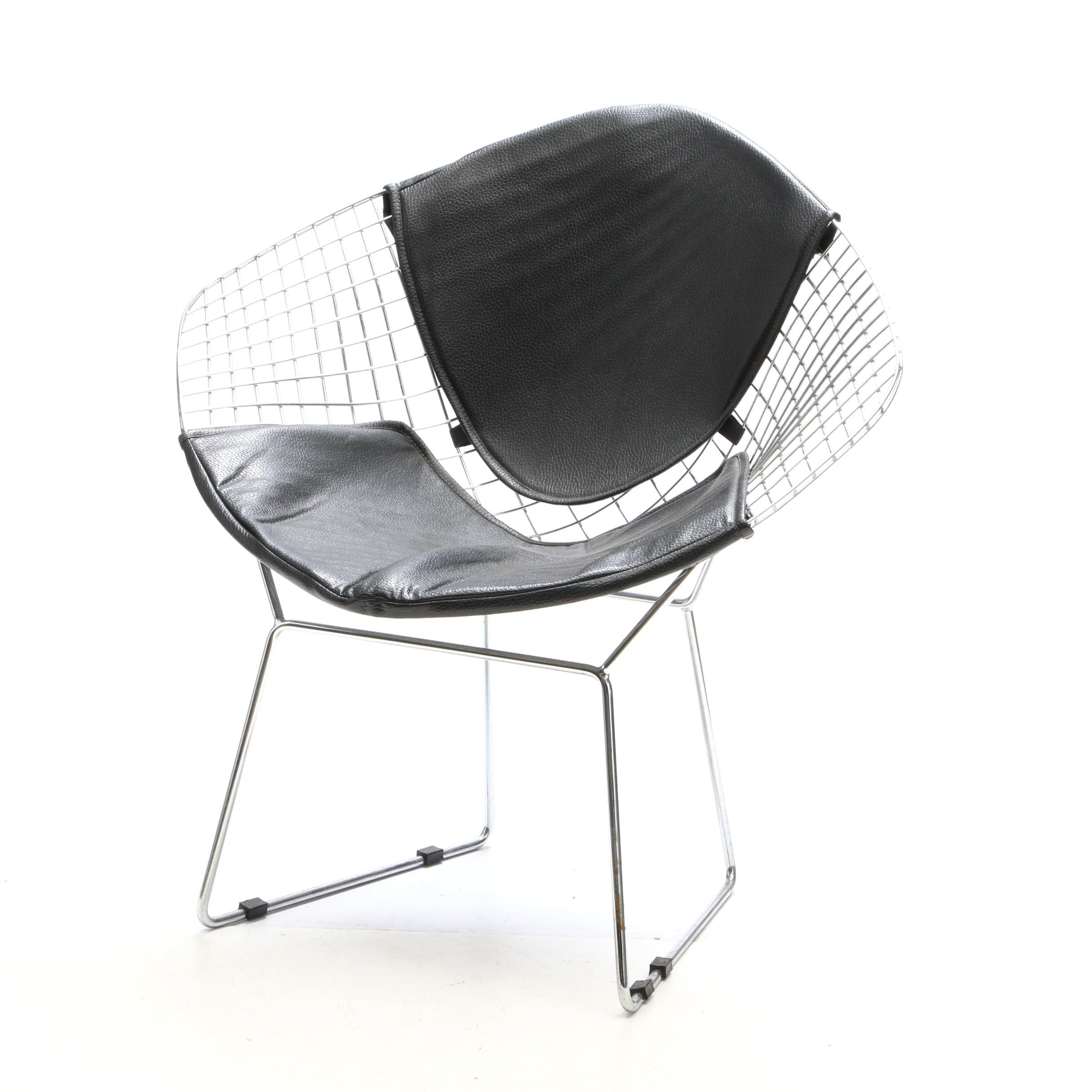Mid Century Modern Style Wire Chair