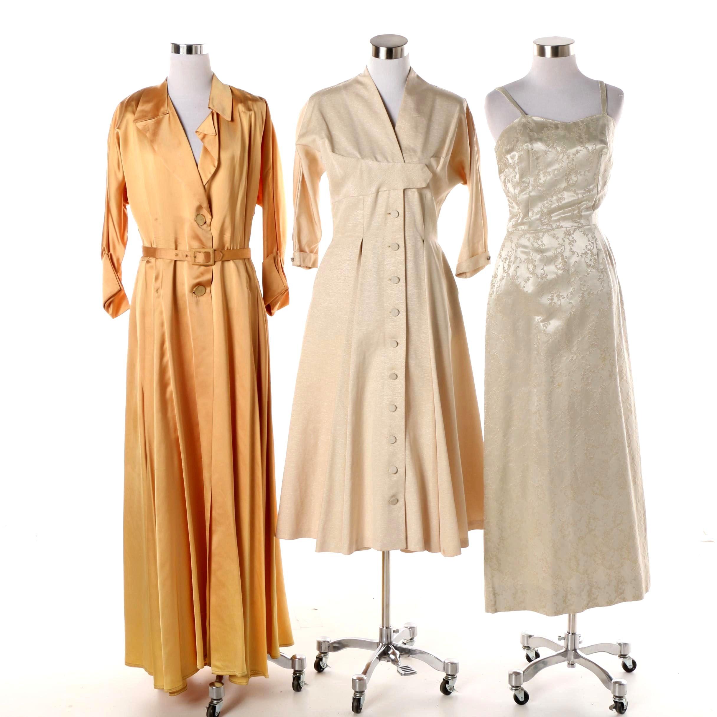 Women's Vintage Coat Dresses and Sheath Including Réloms and B. Cohen Original
