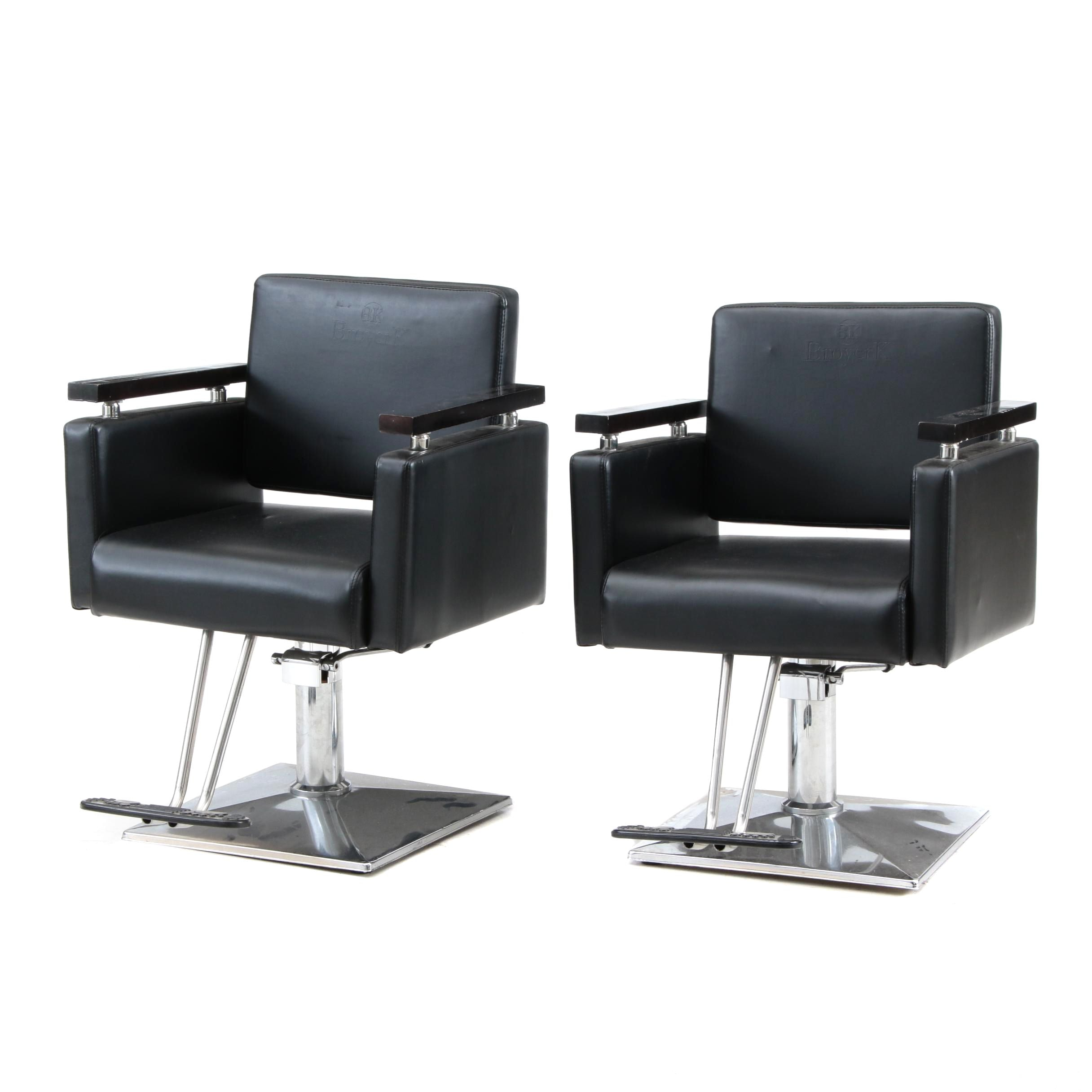 Pair of Broyer K Swivel Chairs