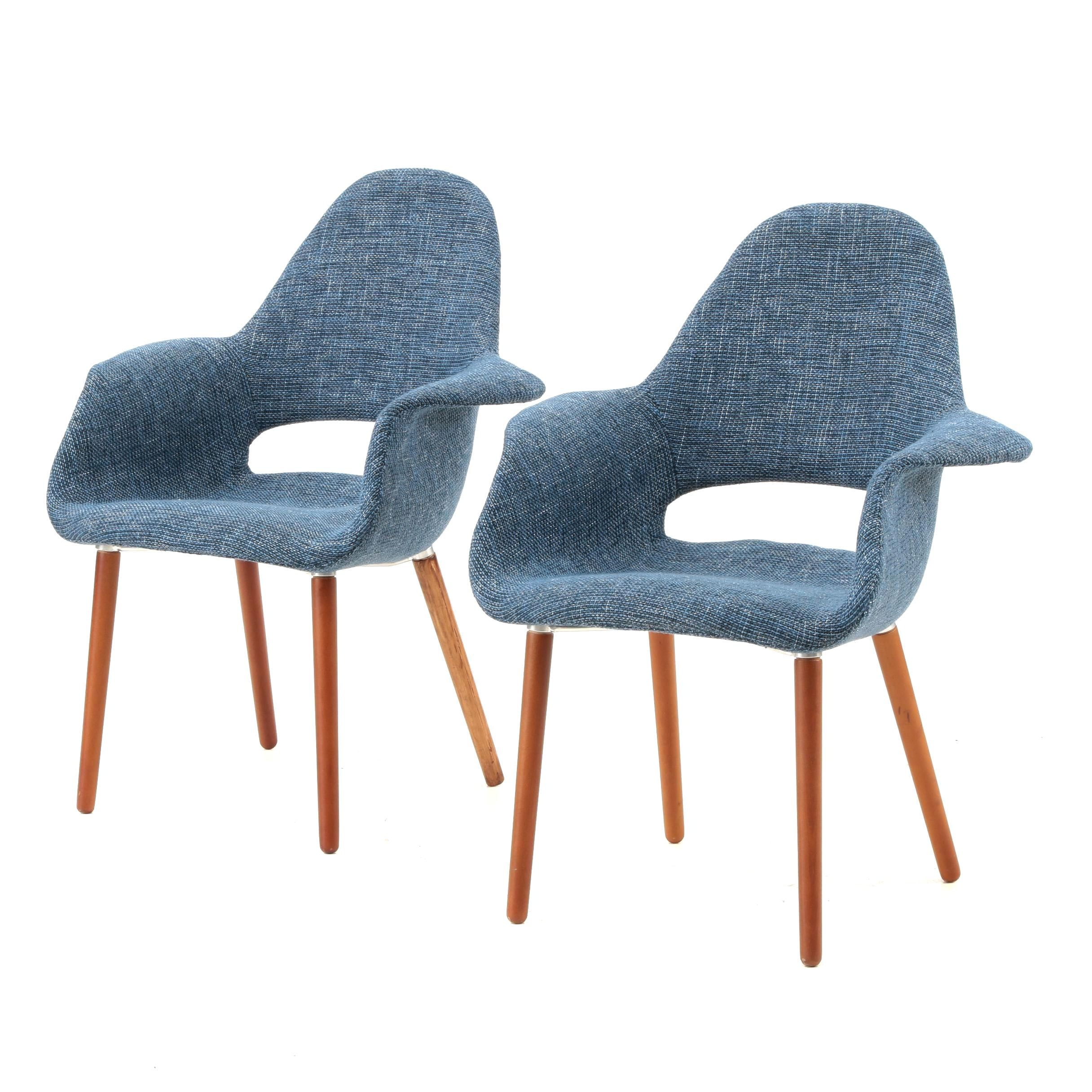 Eames Style Padded Shell Chairs