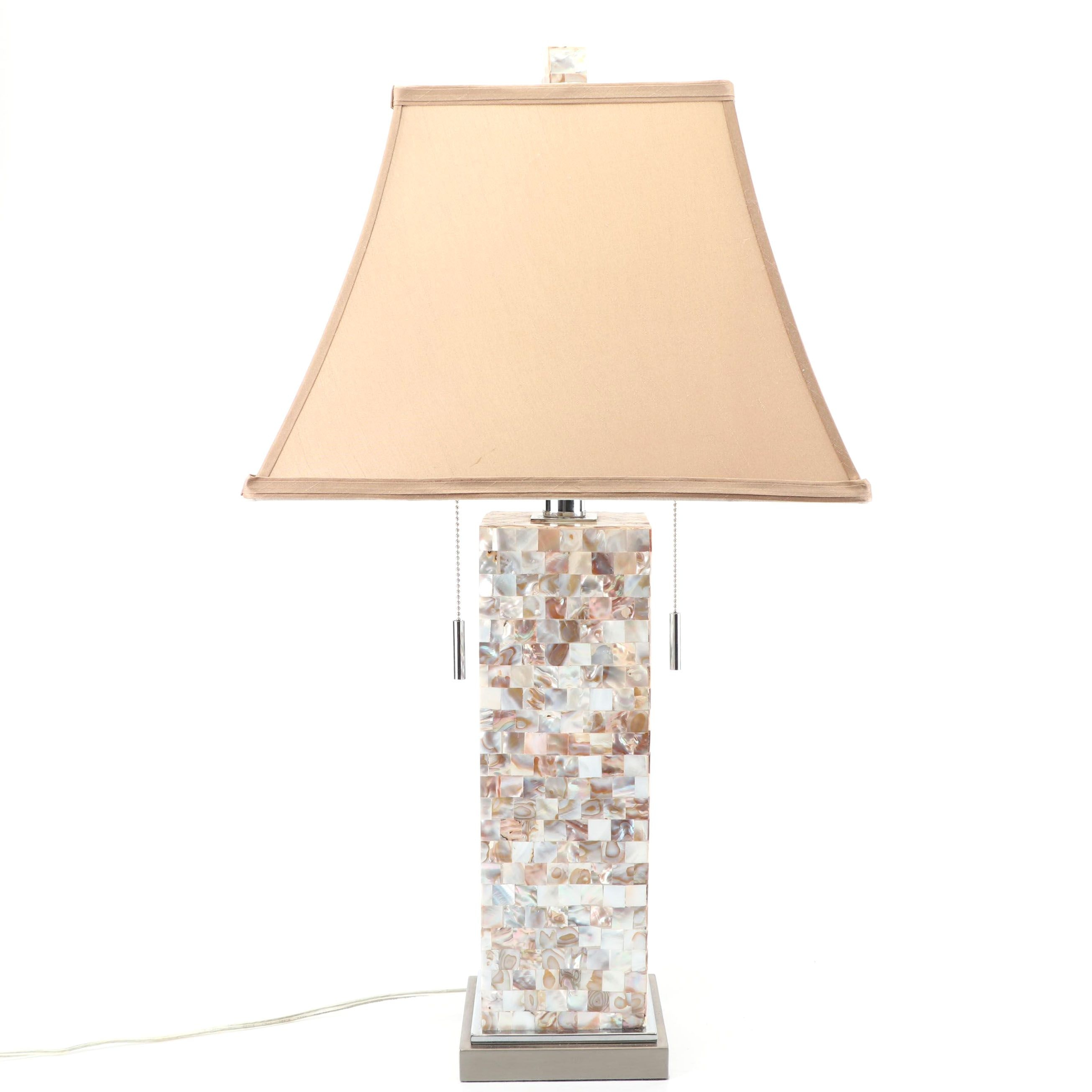 Mother-of-Pearl Table Lamp by Pier 1