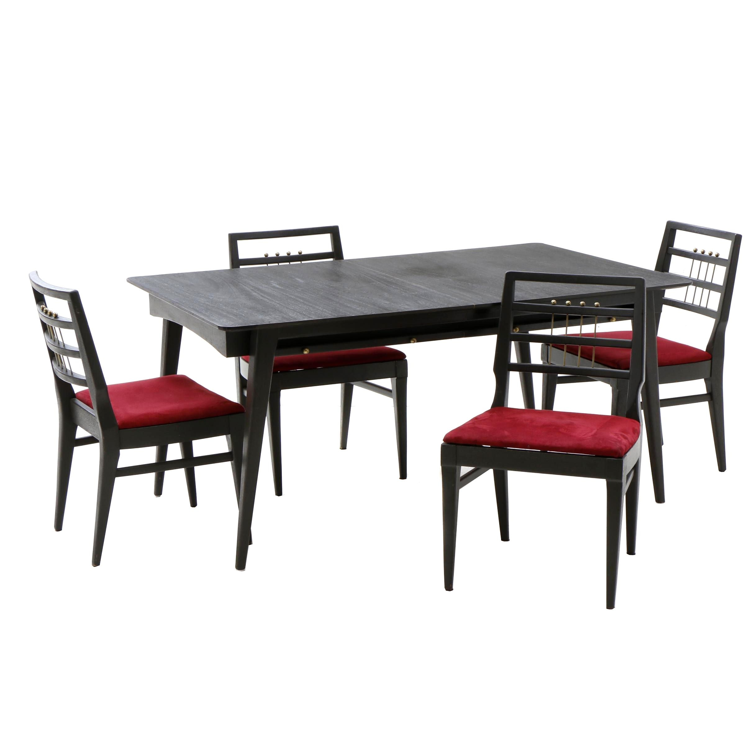 "Modernist ""Perfection Slide"" Dining Set"