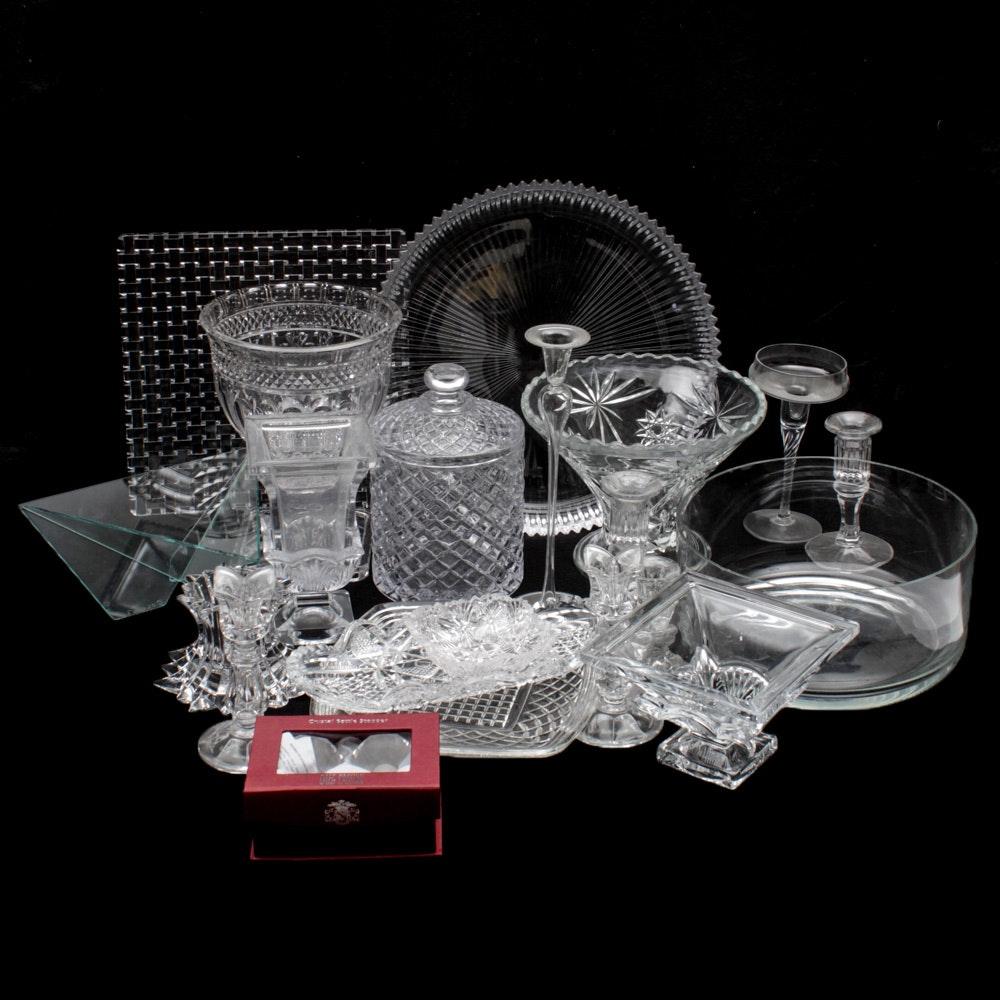Oleg Cassini, Nachtman Crystal and Glassware Tableware